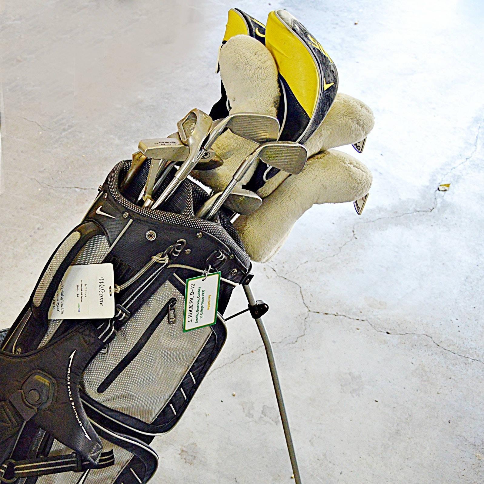 Men's Golf Club Set with Bag