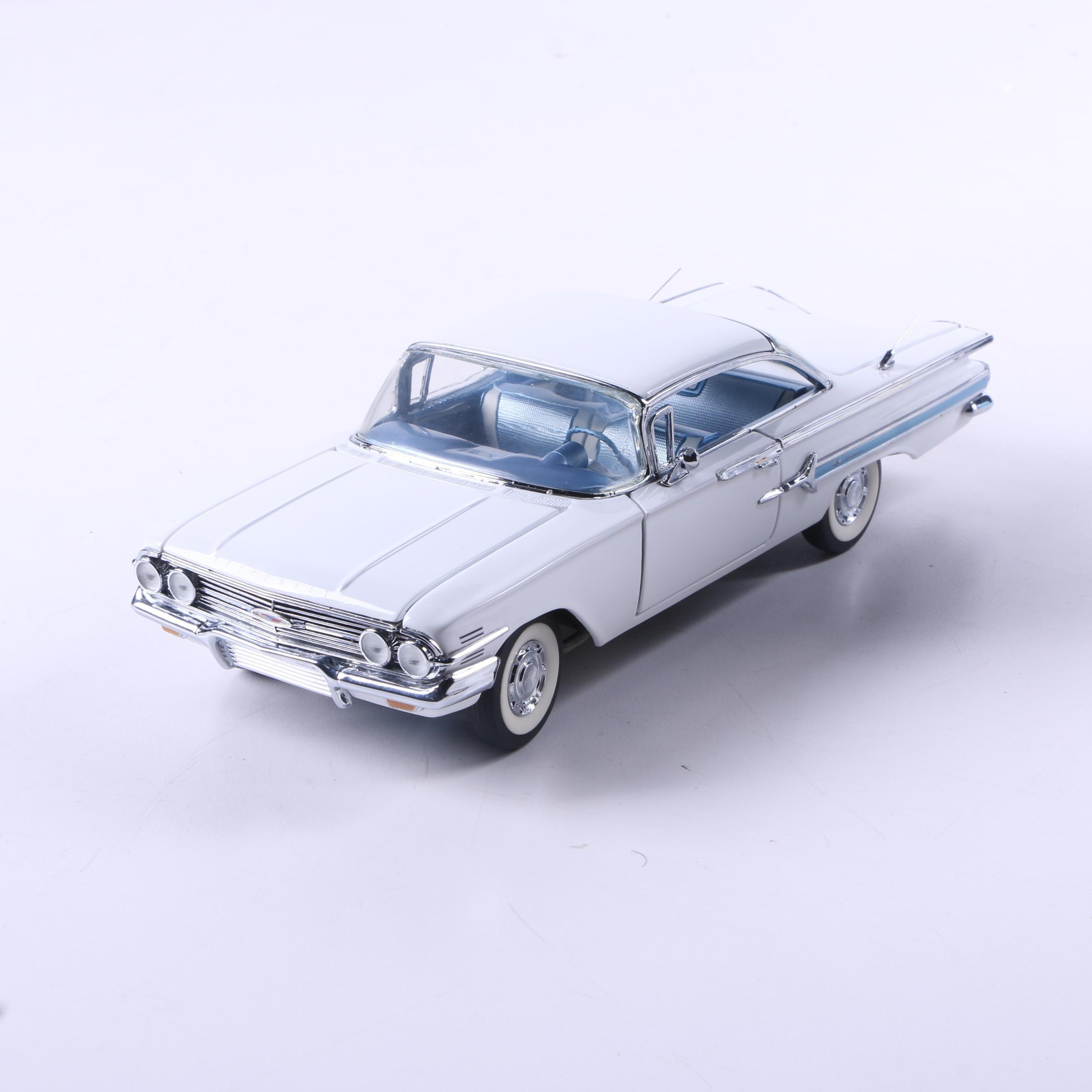 Franklin Mint 1960 Chevy Impala Die-Cast Car