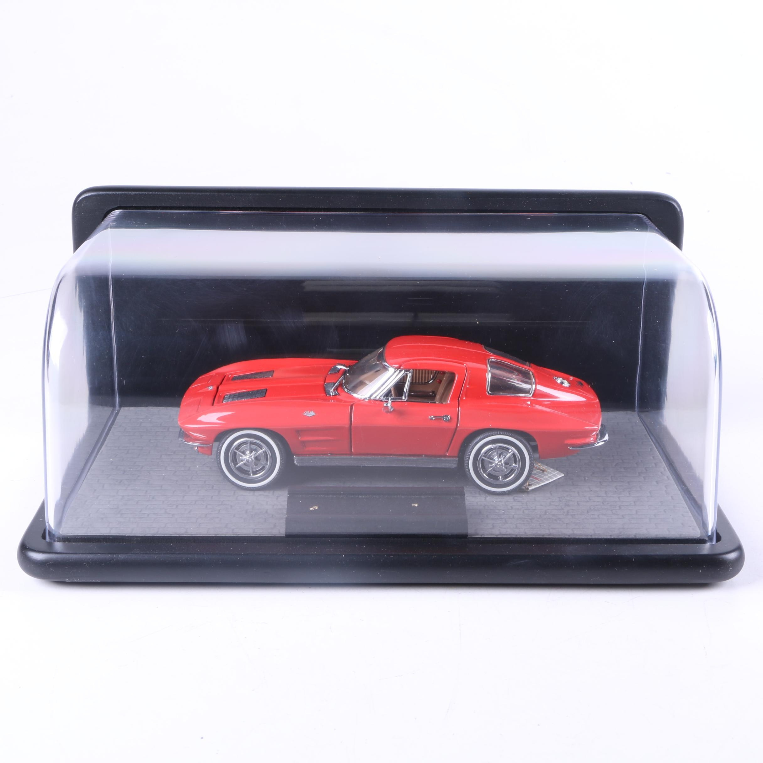 Franklin Mint 1963 Chevrolet Corvette Die-Cast Car