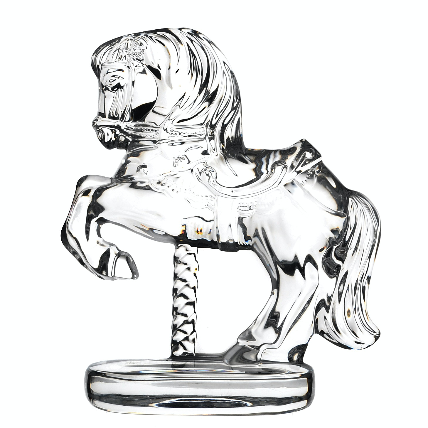 Waterford Crystal Carousel Horse Figurine