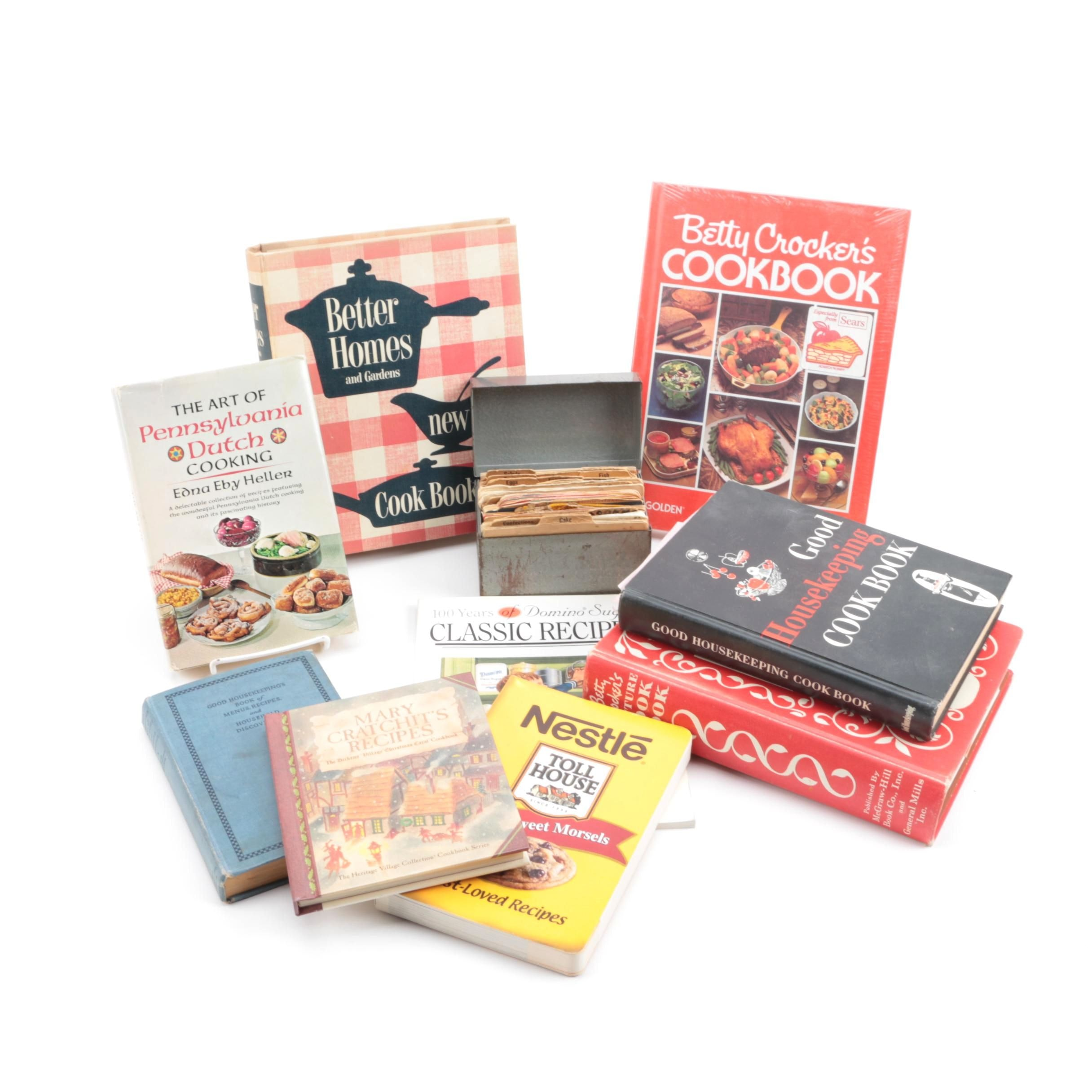 Cookbooks featuring Betty Crocker and Better Homes