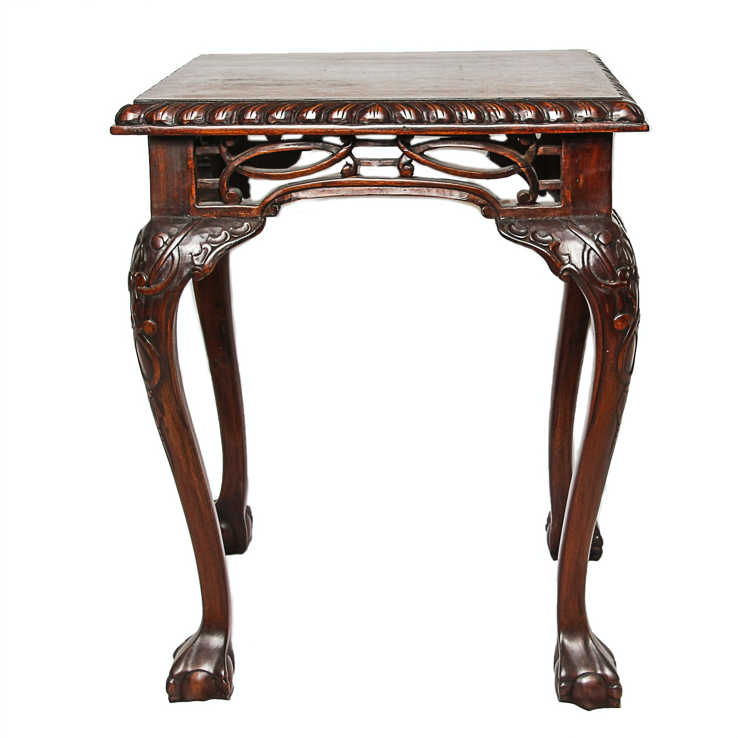 Chippendale Carved Side Table
