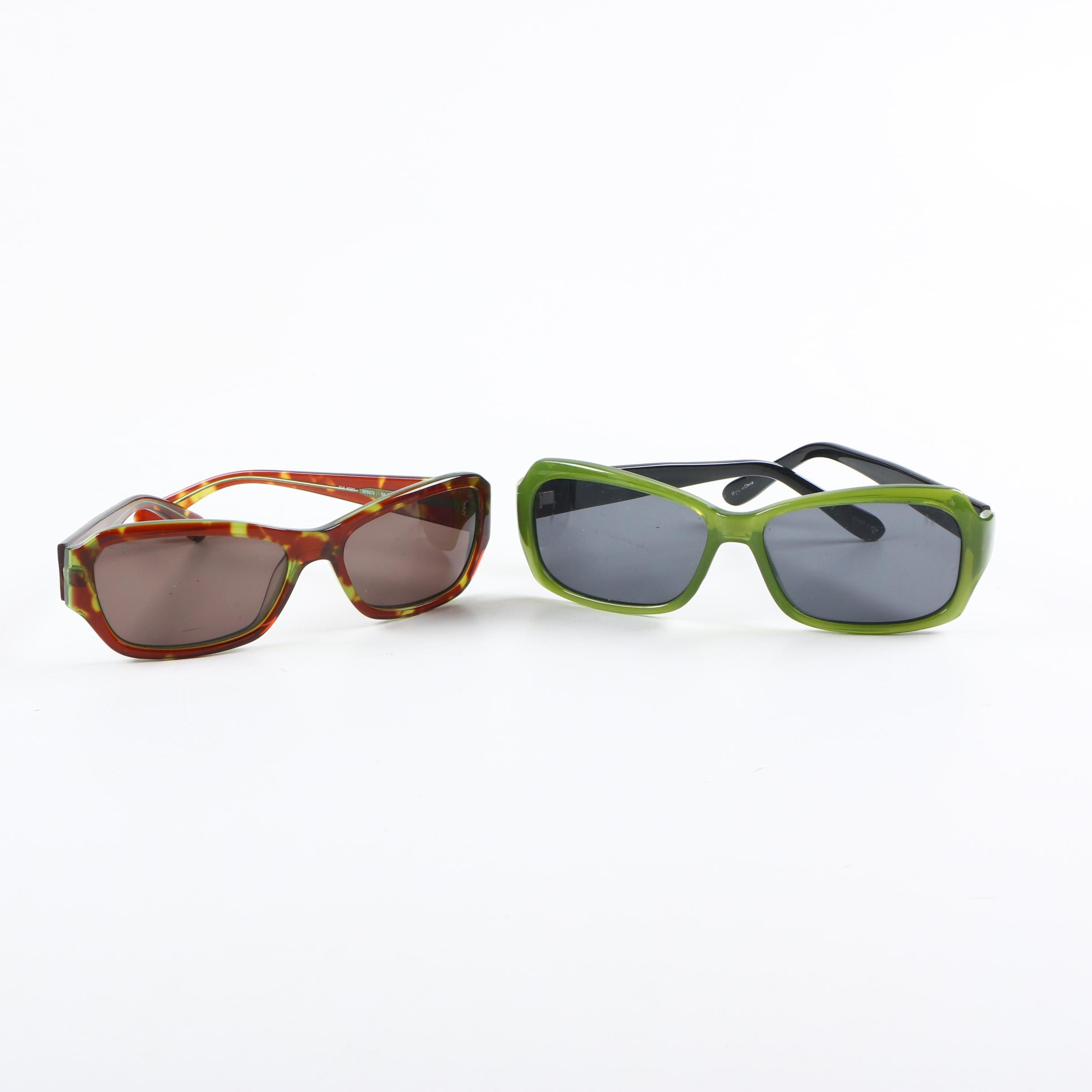 Women's Sunglasses Including DKNY