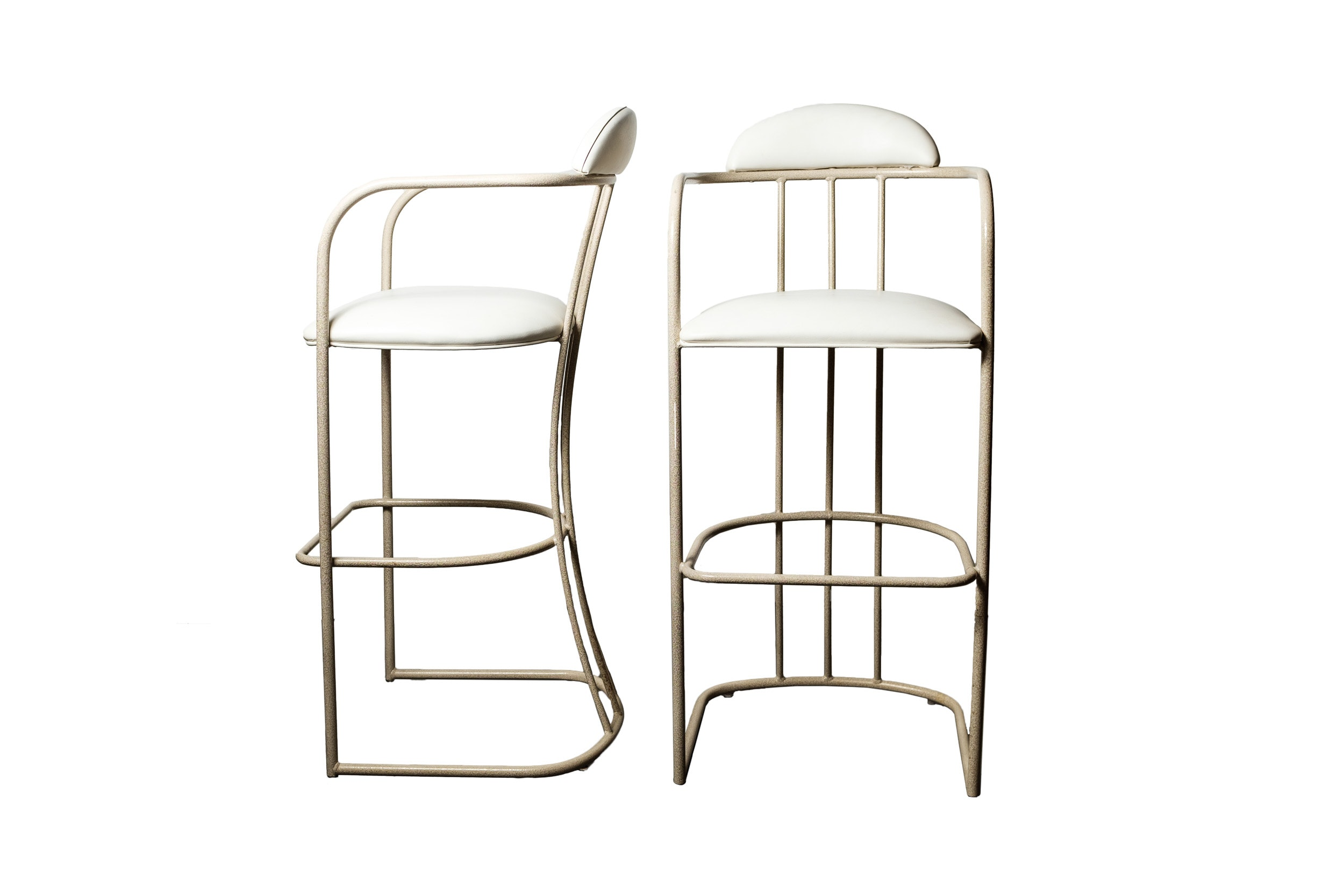 Pair of Modern Counter Stools by U.S. Furniture Industries