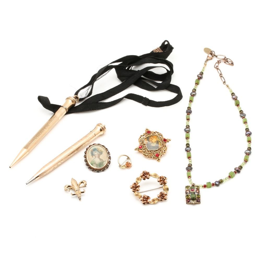 Grouping of Vintage Jewelry Including Krementz
