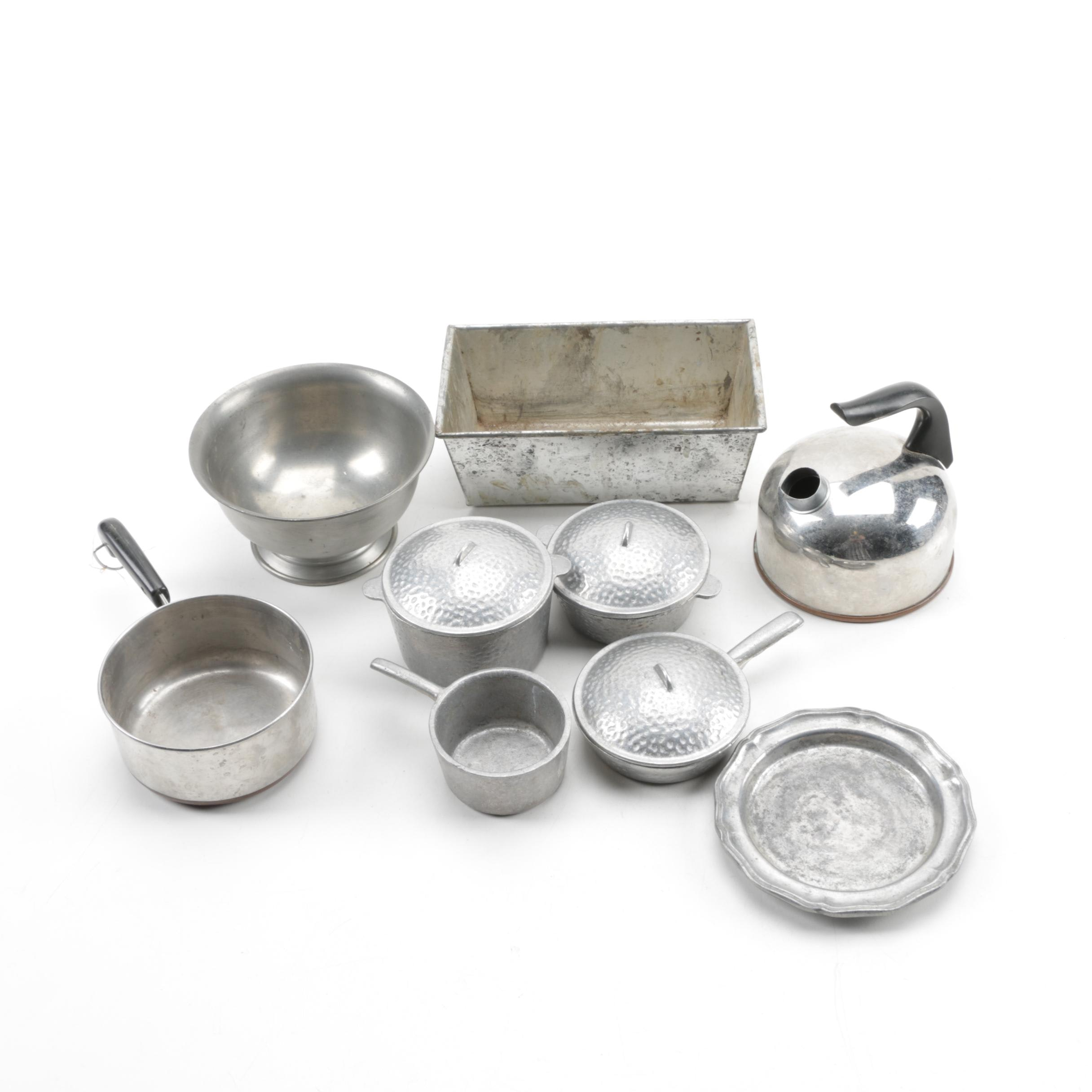 Metal and Pewter Cookware