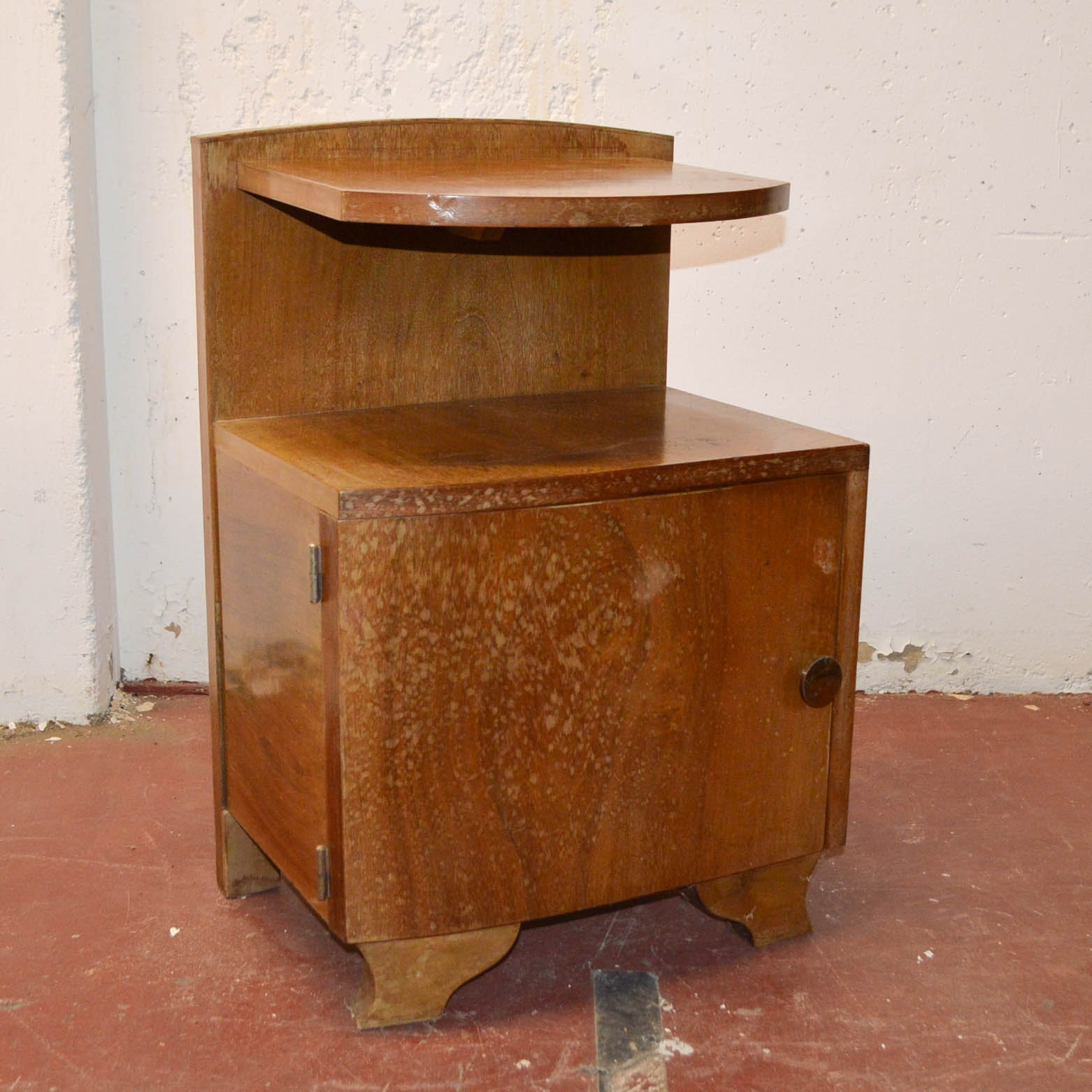 Mid-Century Wooden Side Table