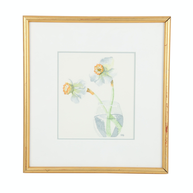 Original Still Life Watercolor