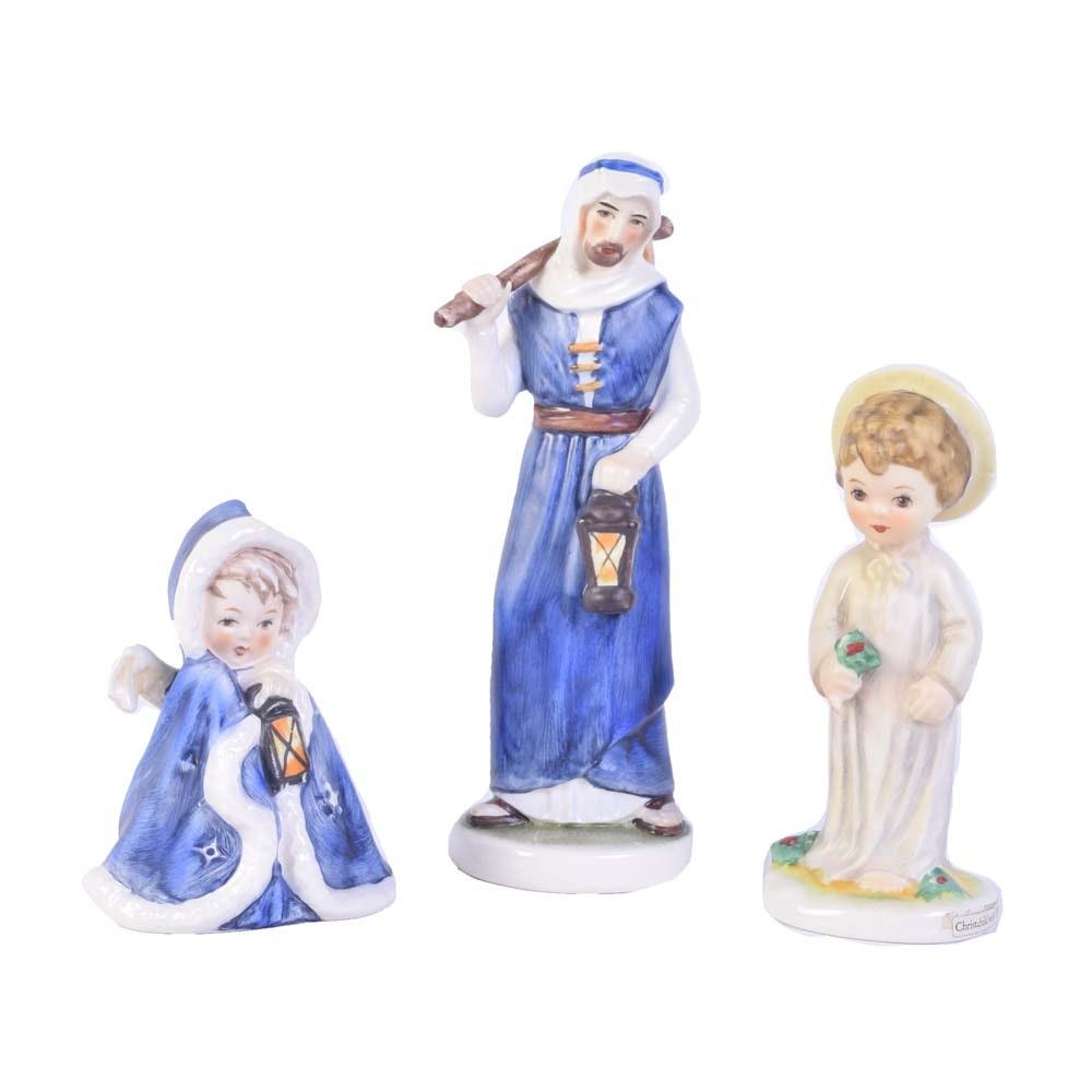 Goebel Christmas Themed Figurines
