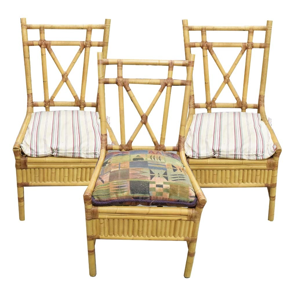 Bamboo Side Chairs