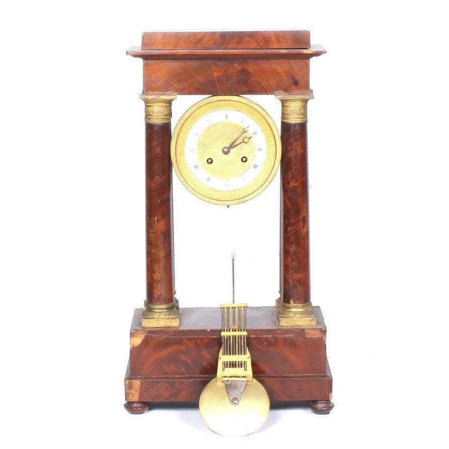 Empire Style Mantel Clock