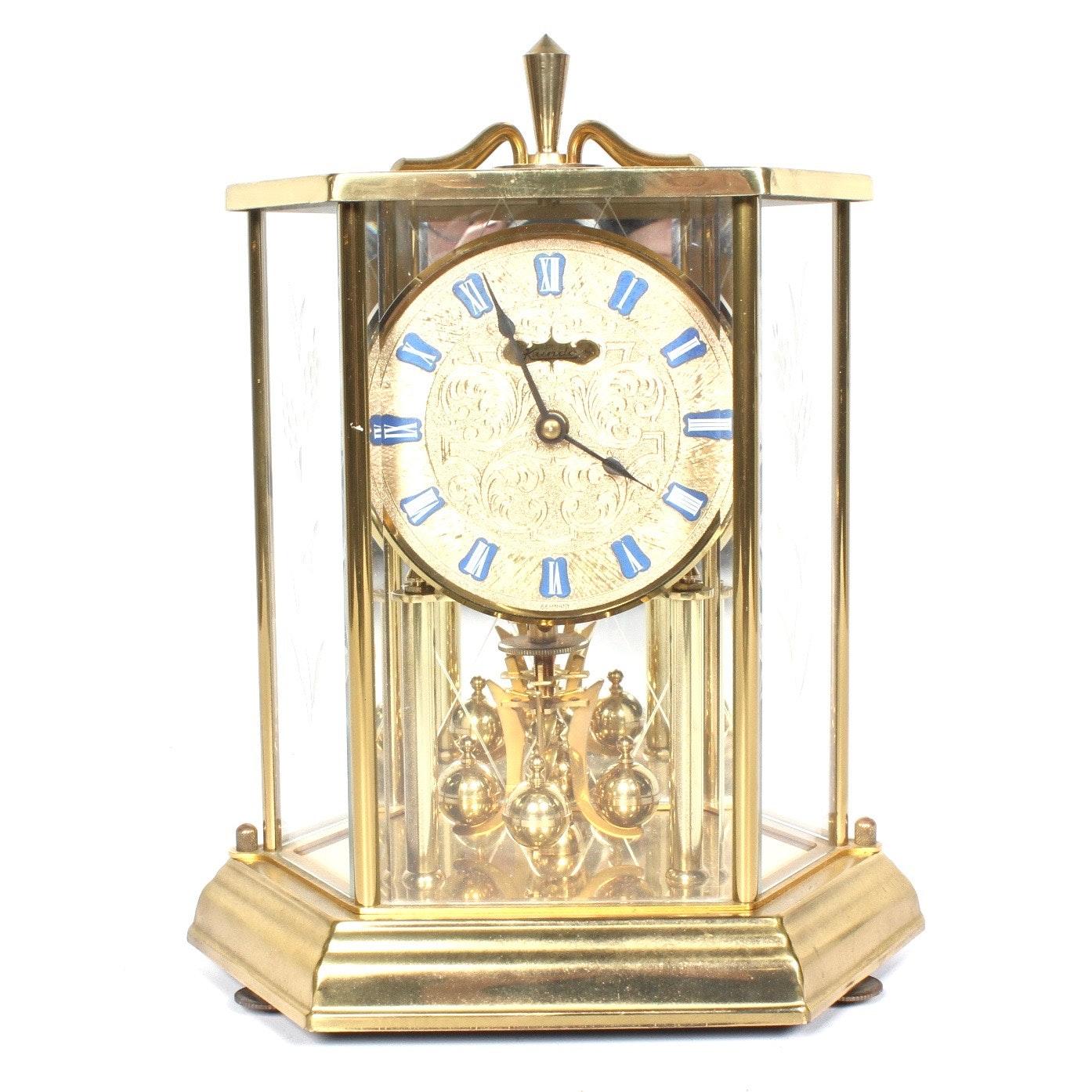 Kundo Brass Mantel Clock