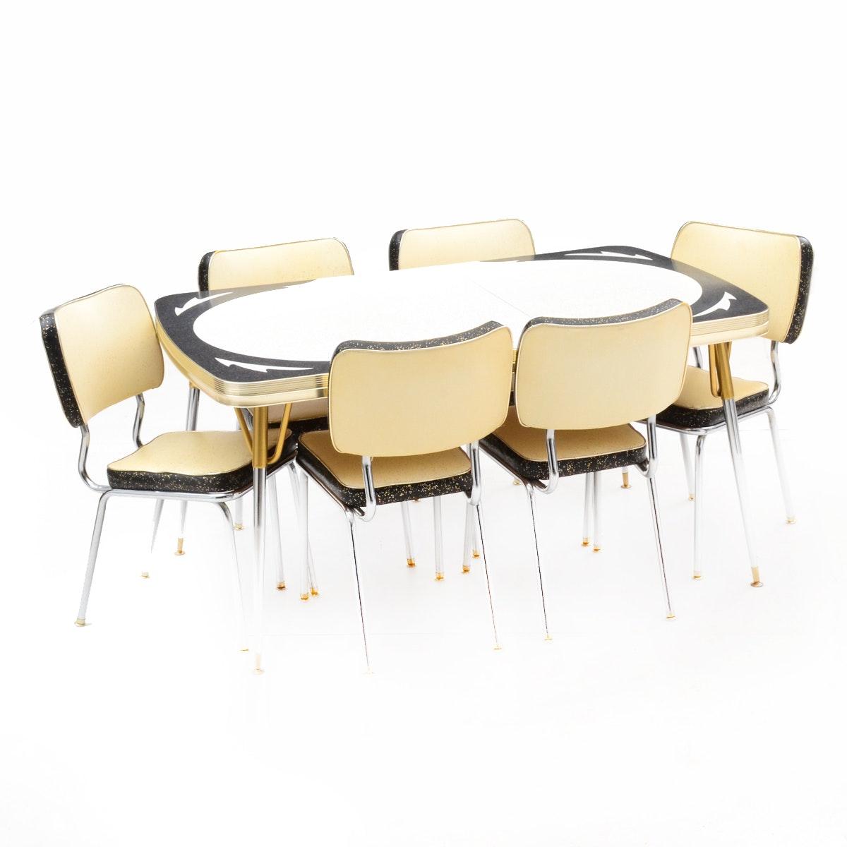 Mid Century Modern Dining Set by Kuehne