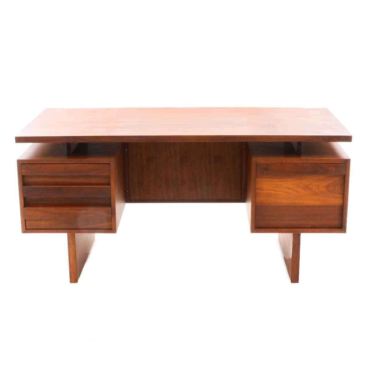 Josef Otmar Mid Century Walnut Desk
