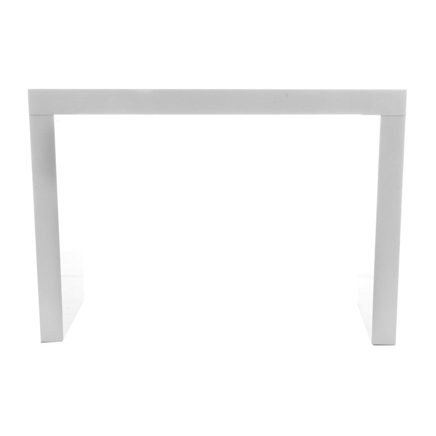 Modern Style Sunpan Faro C Shaped Bar Table