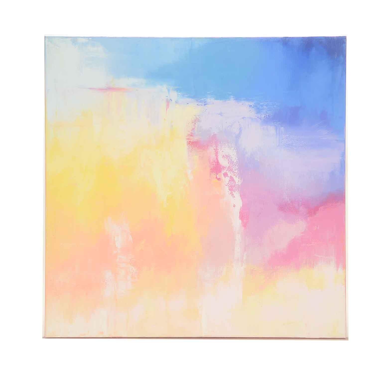 "Sarah Brown Abstract Oil Painting ""Nightfall"""