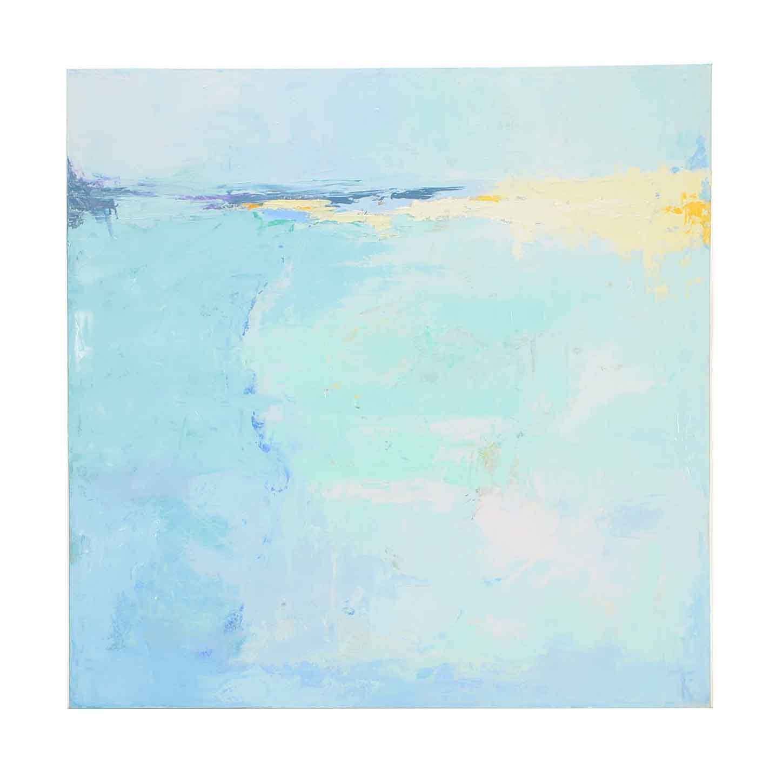 "Sarah Brown Abstract Oil Painting ""Coastal"""