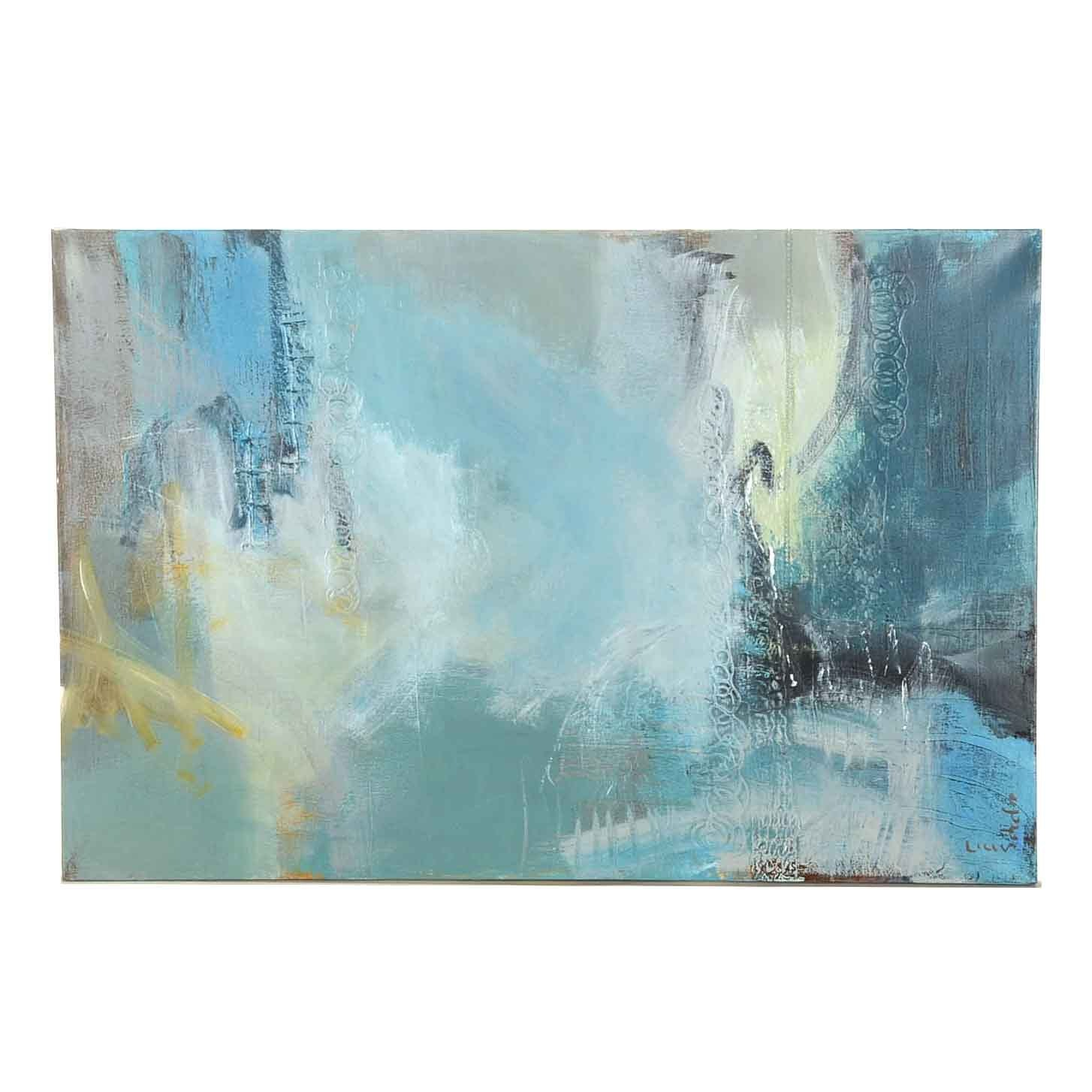 Lisa Schafer Abstract Mixed Media Painting