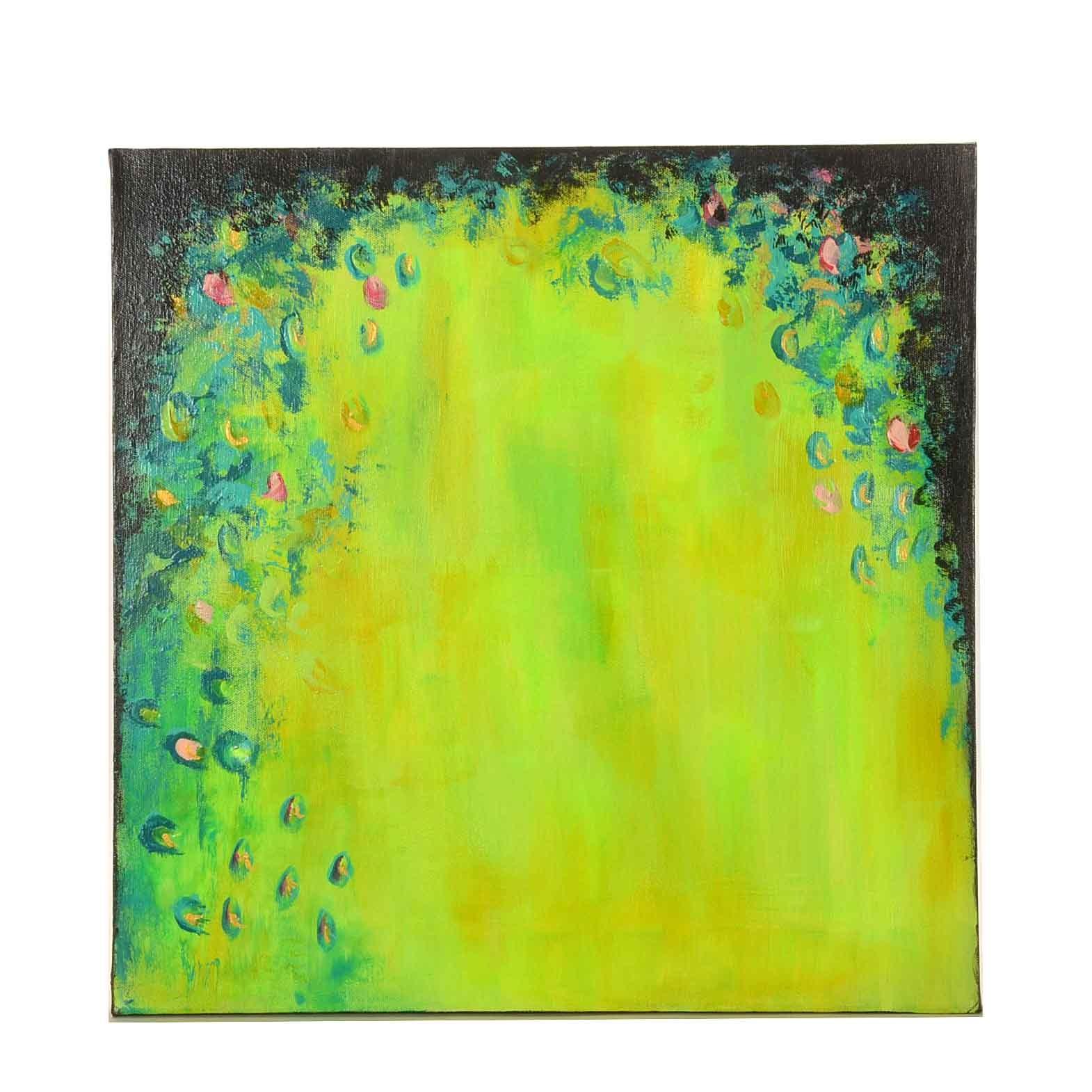 """Sanna Acrylic Painting on Canvas """"Spring Dream"""""""