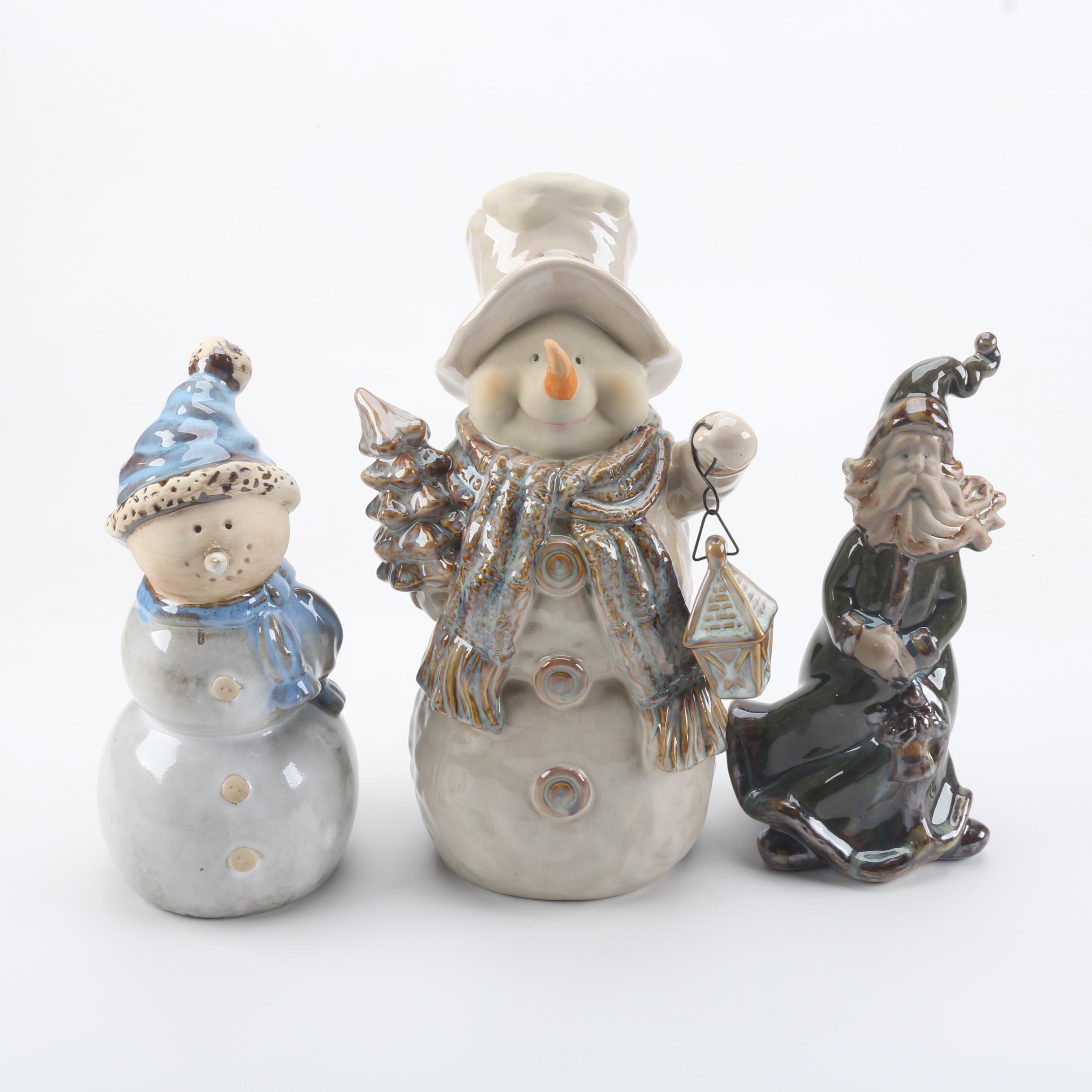 Snowman Figurines