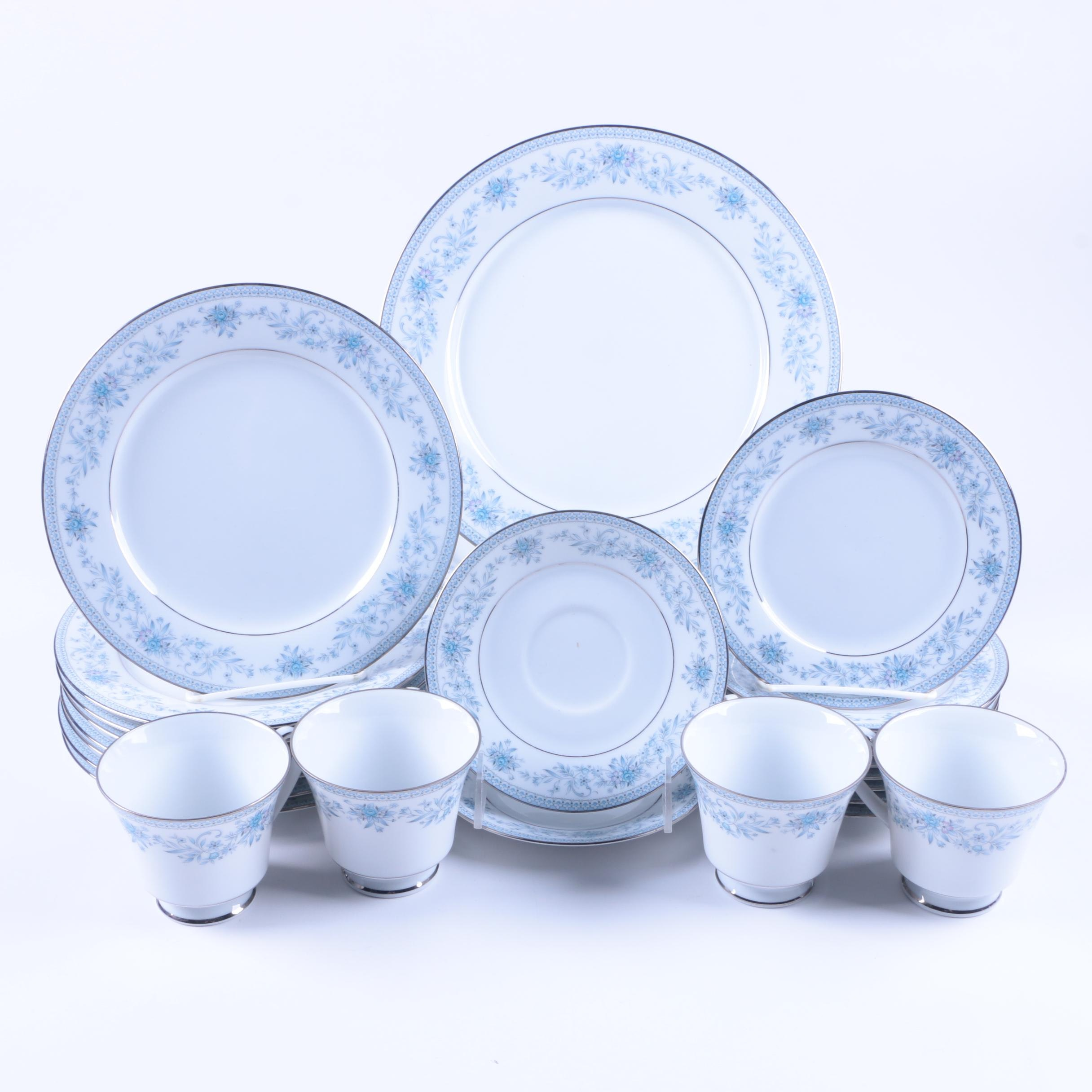"Noritake ""Blue Hill"" Bone China Tableware"