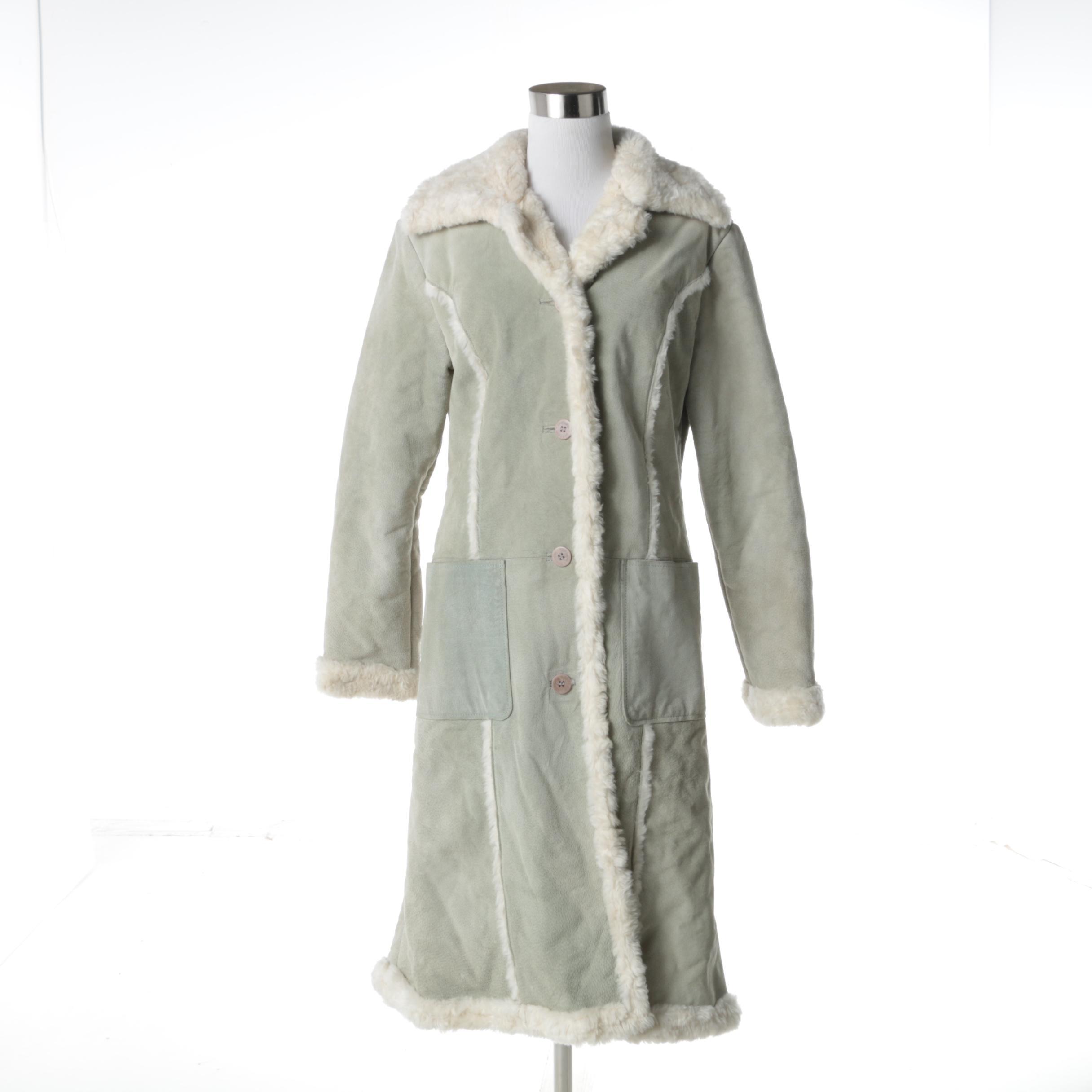 Women's Steve Madden Leather Coat