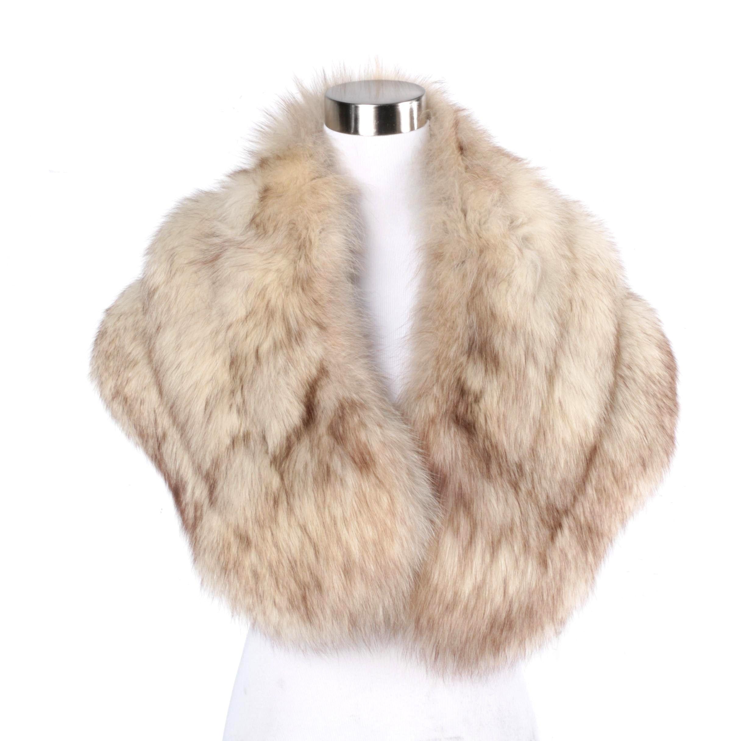 Women's Fox Fur Stole