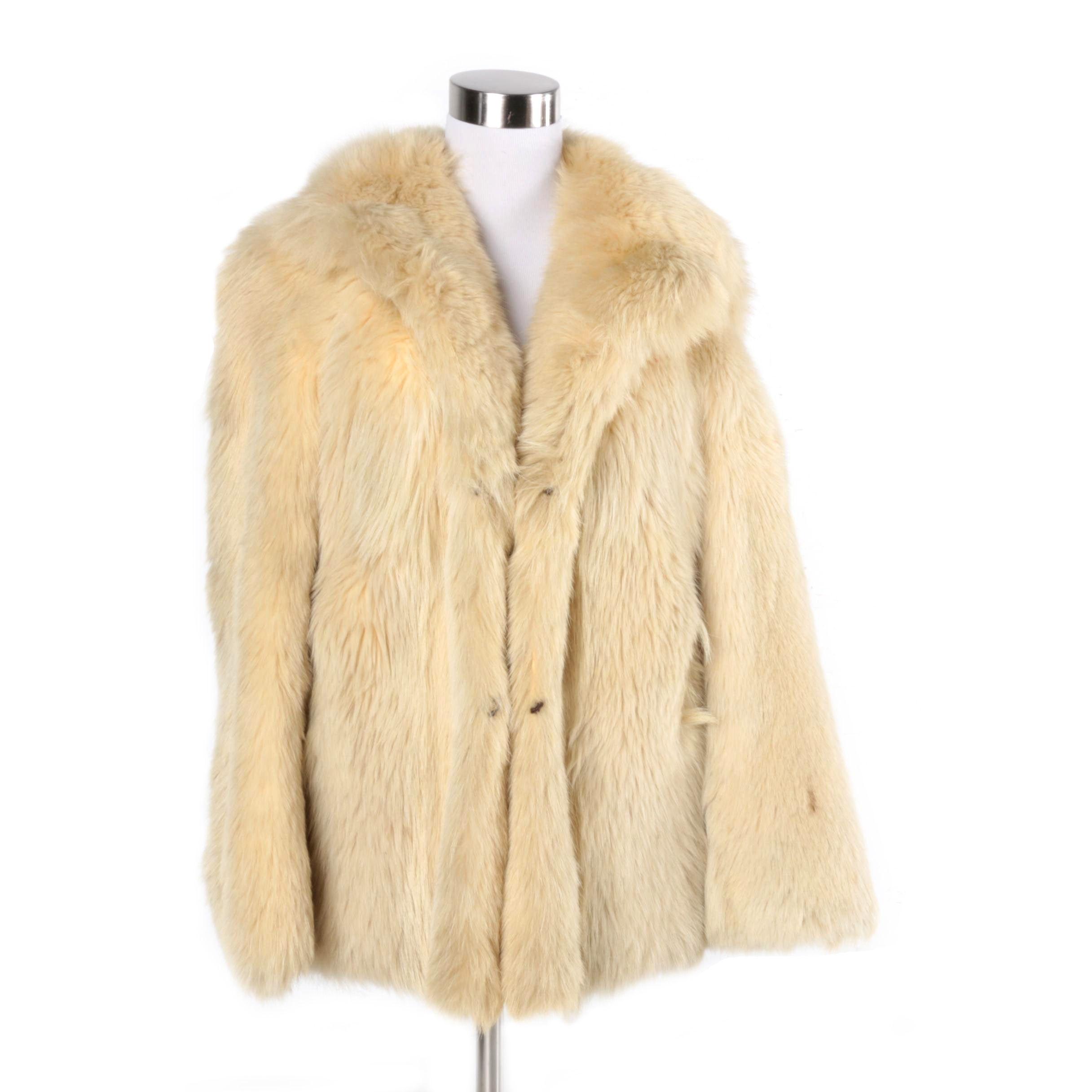 Women's Vintage Sheepskin Coat