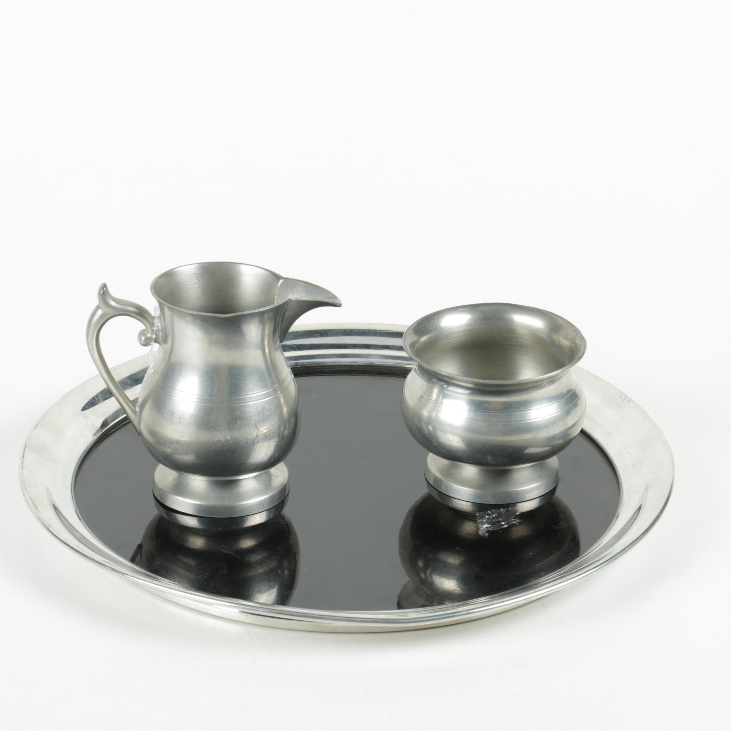 Woodbury And A.L. Hanle Pewter Tableware ...
