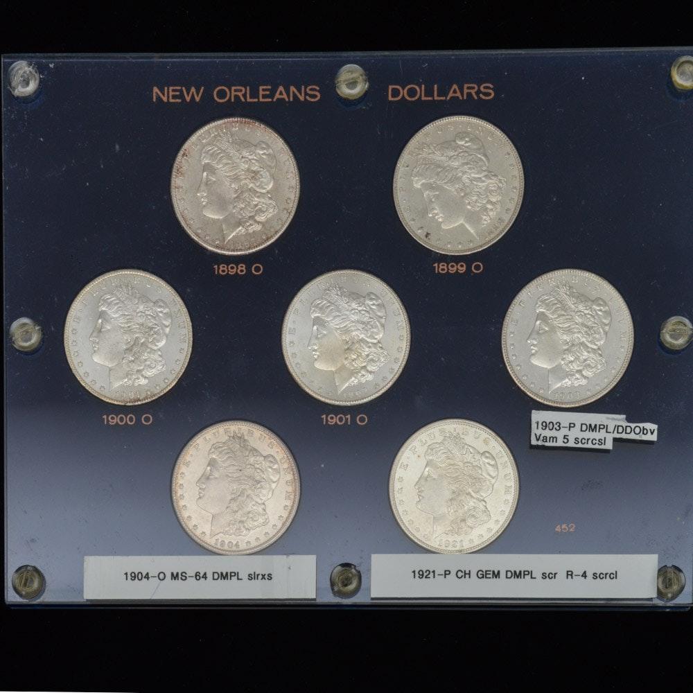 Morgan Silver Dollar Collection