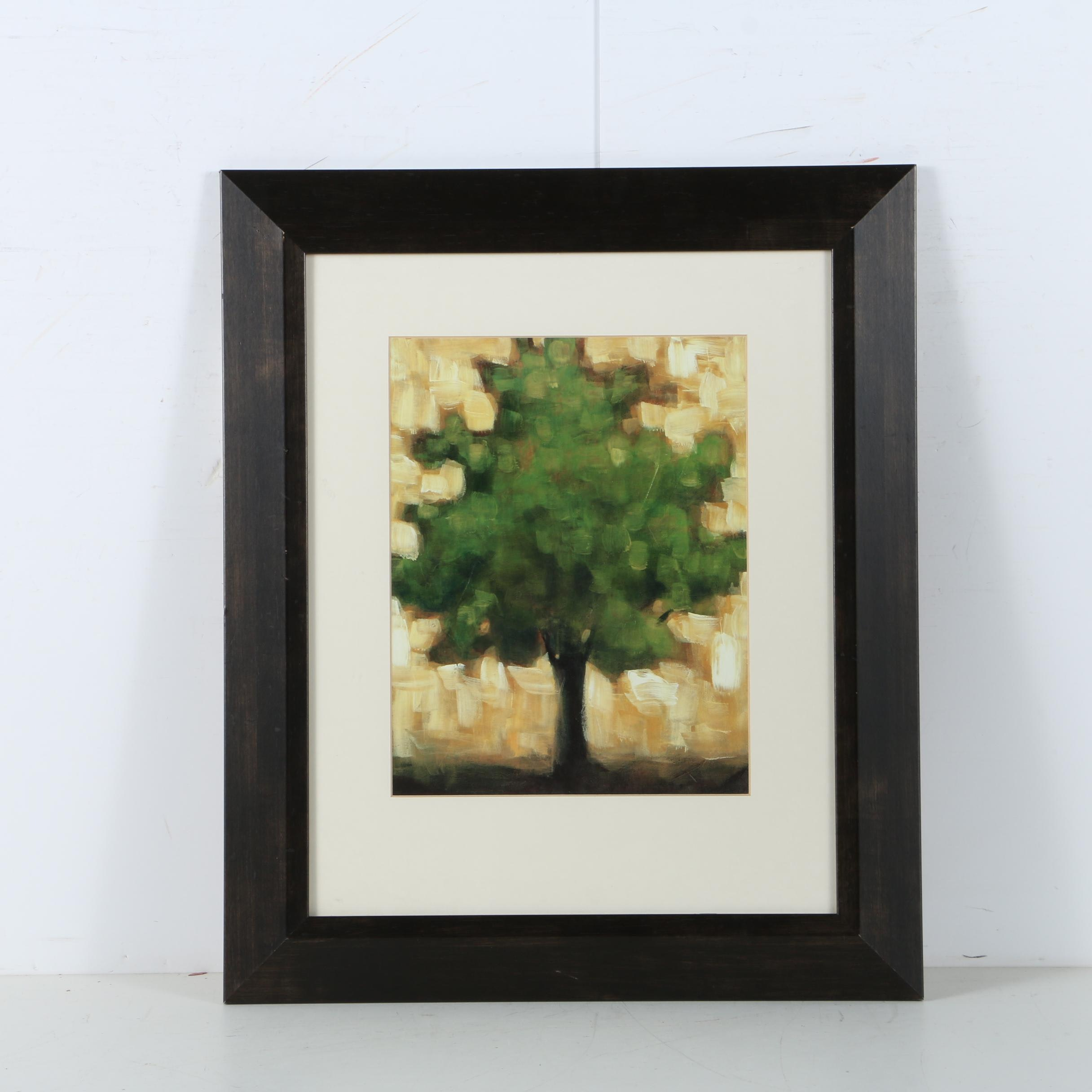 Giclee Print on Paper of Tree