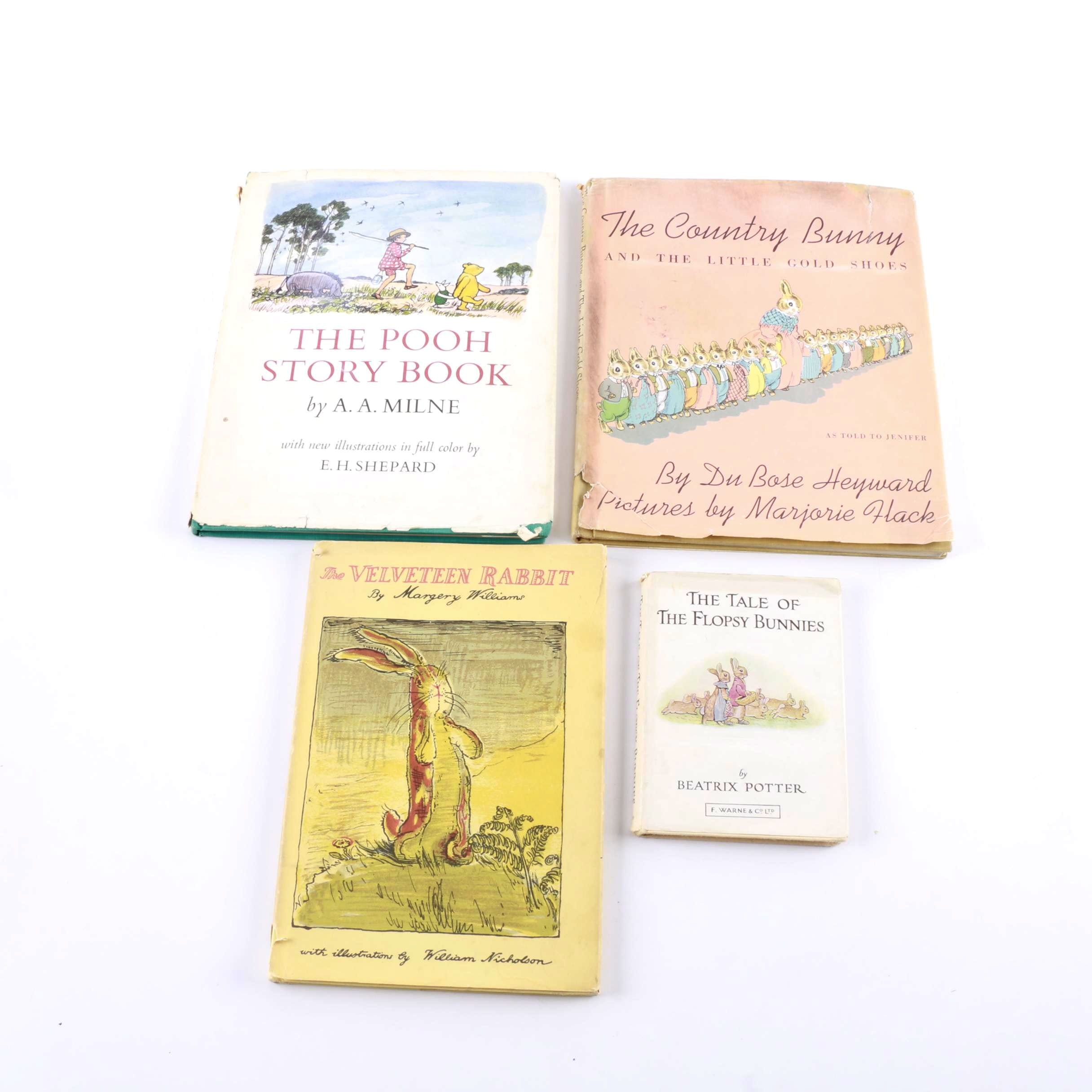 "Vintage Children's Books featuring ""The Pooh Story Book"""