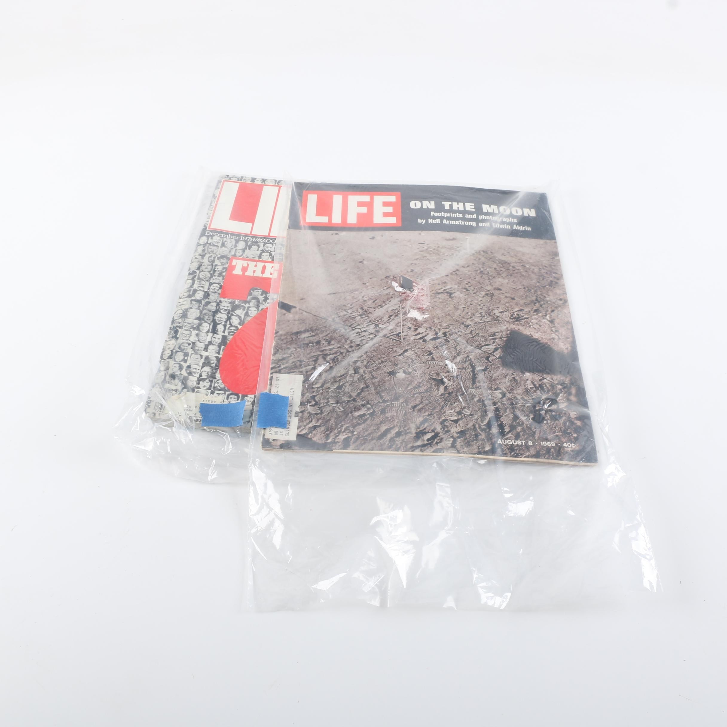 """Collection of """"Life"""" Magazines"""