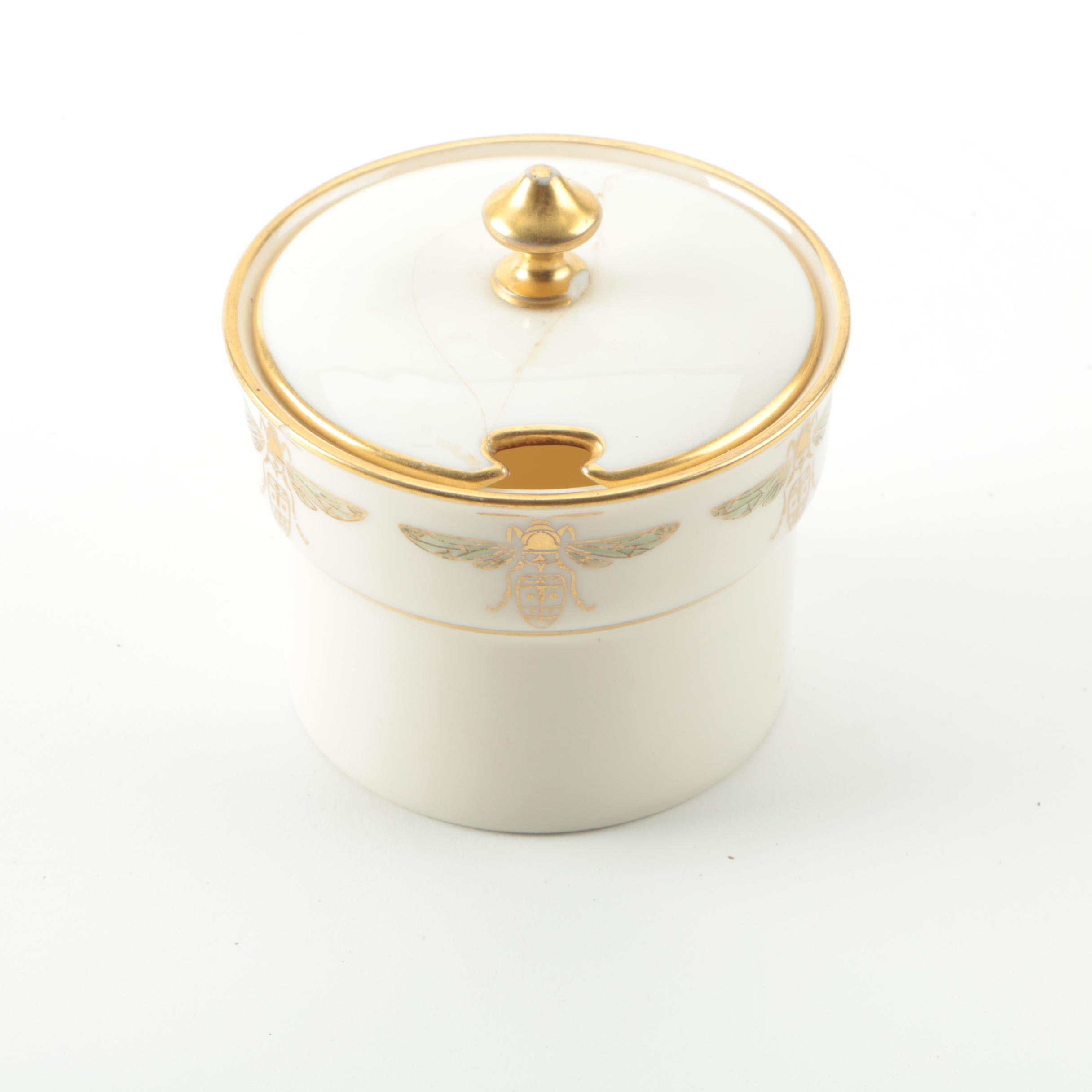 Vintage Tiffany & Co. and Lenox Honey Pot