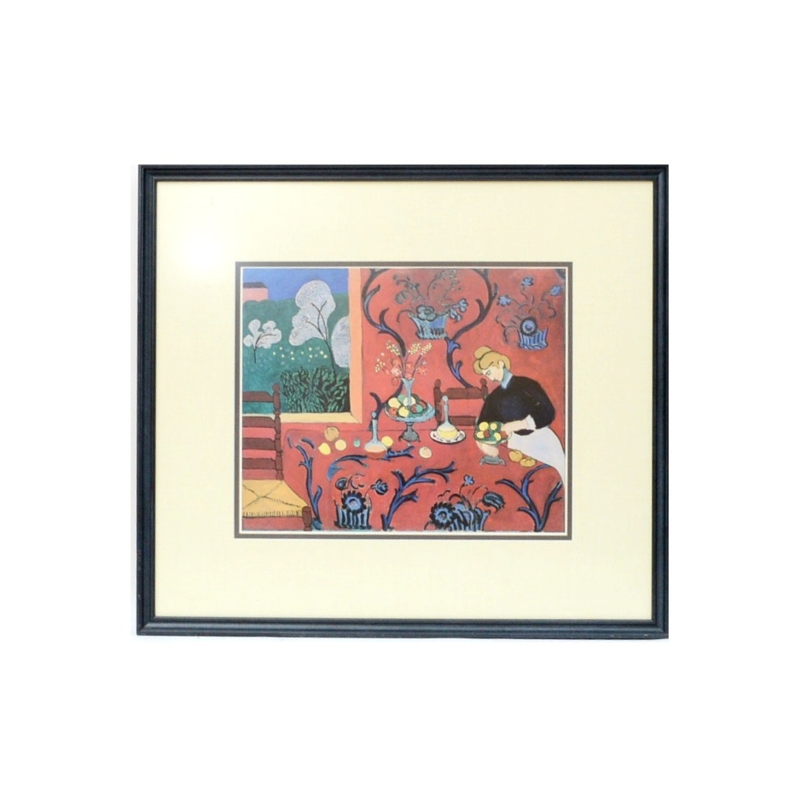 "MoMA 1992 Framed Offset Lithograph for ""Henri Matisse: A Retrospective"""