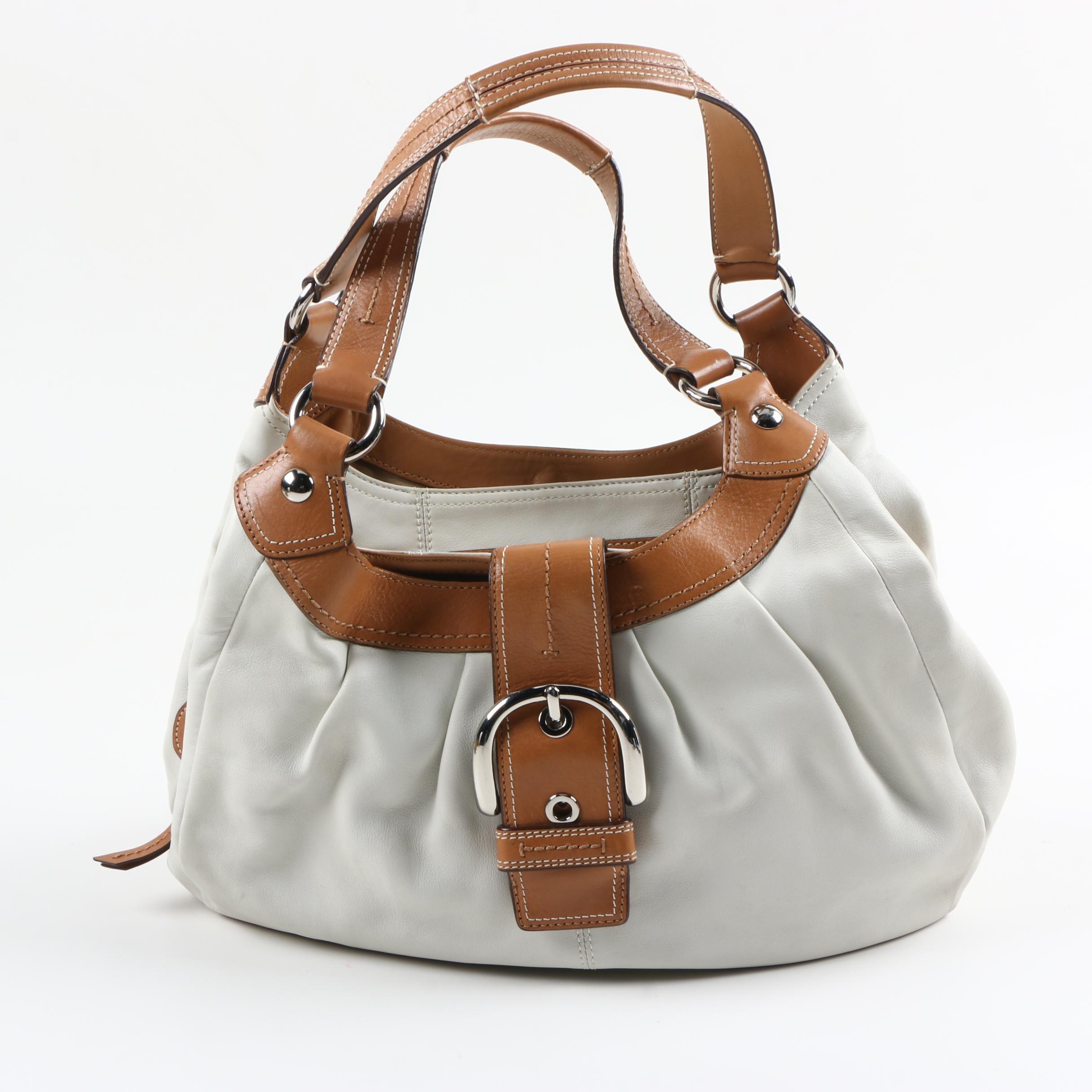Coach Leather Soho Hobo Bag