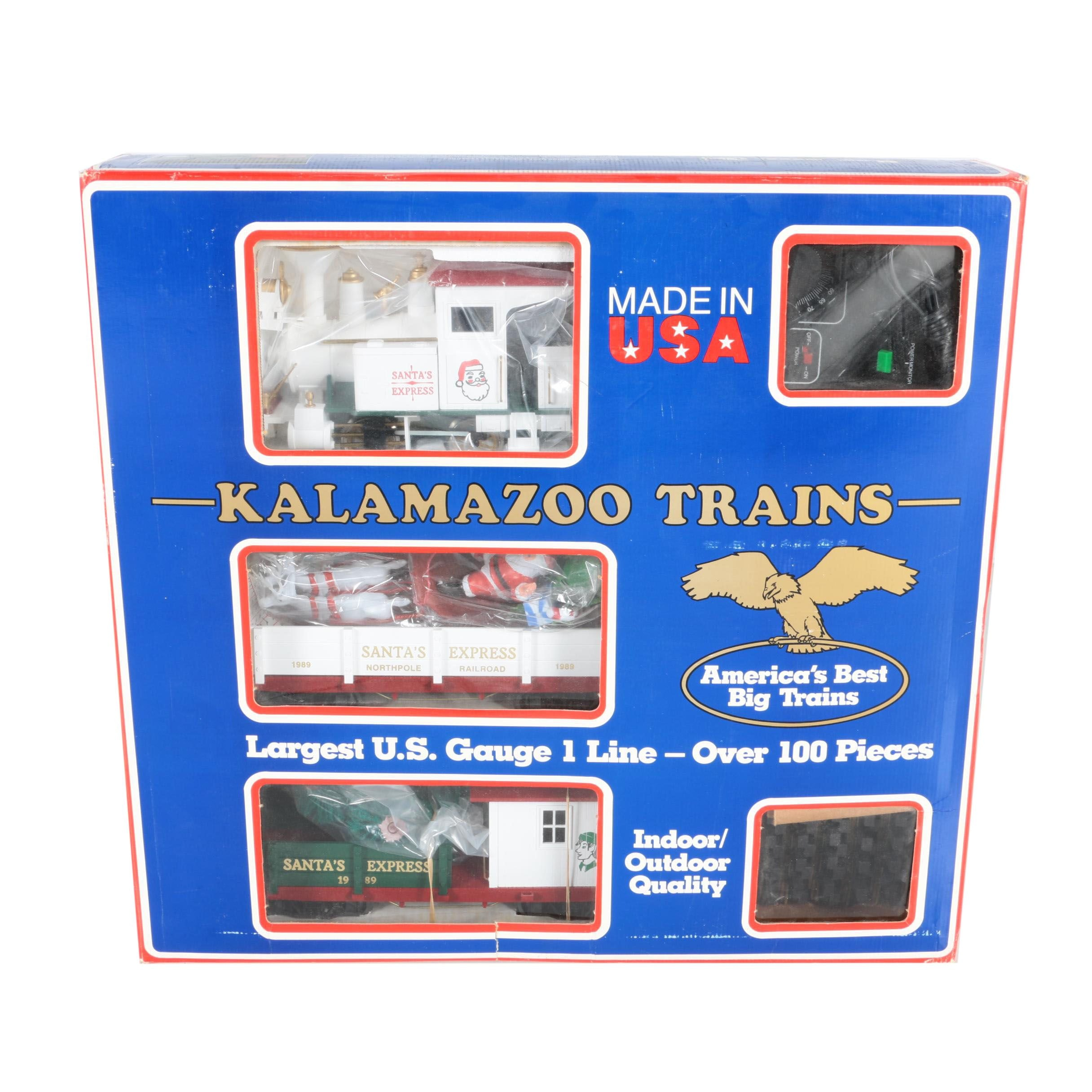 Santa's Express by Kalamazoo Trains