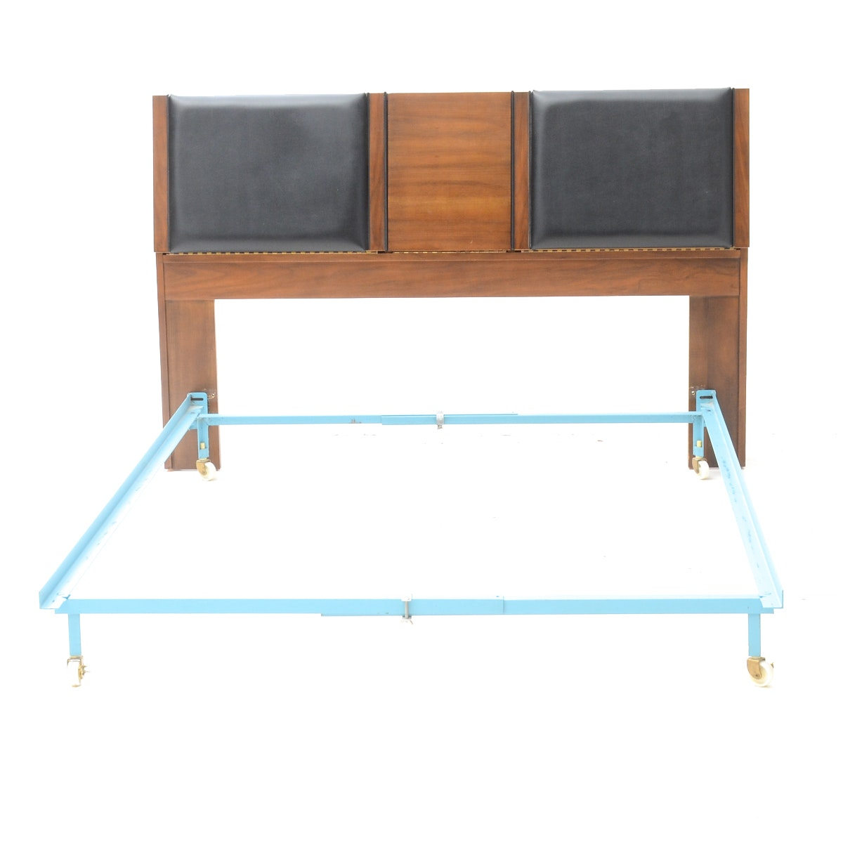 Mid Century Modern Twin Bed Frame