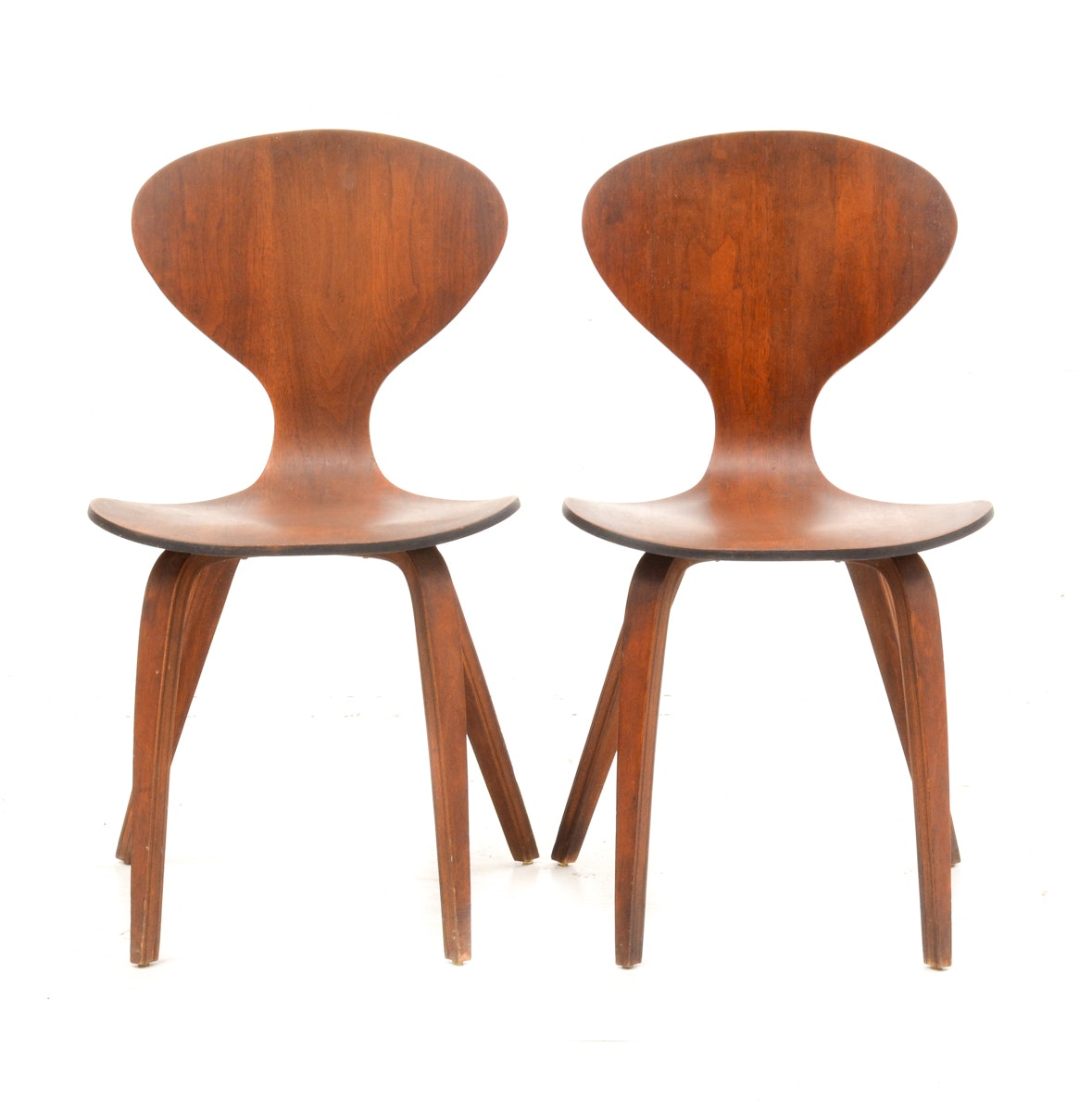 Mid Century Modern Style Side Chairs After Norman Cherner