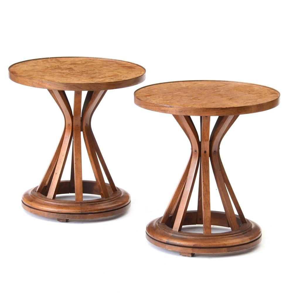 Mid Century Modern Edward Wormley Sheaf of Wheat Side Tables