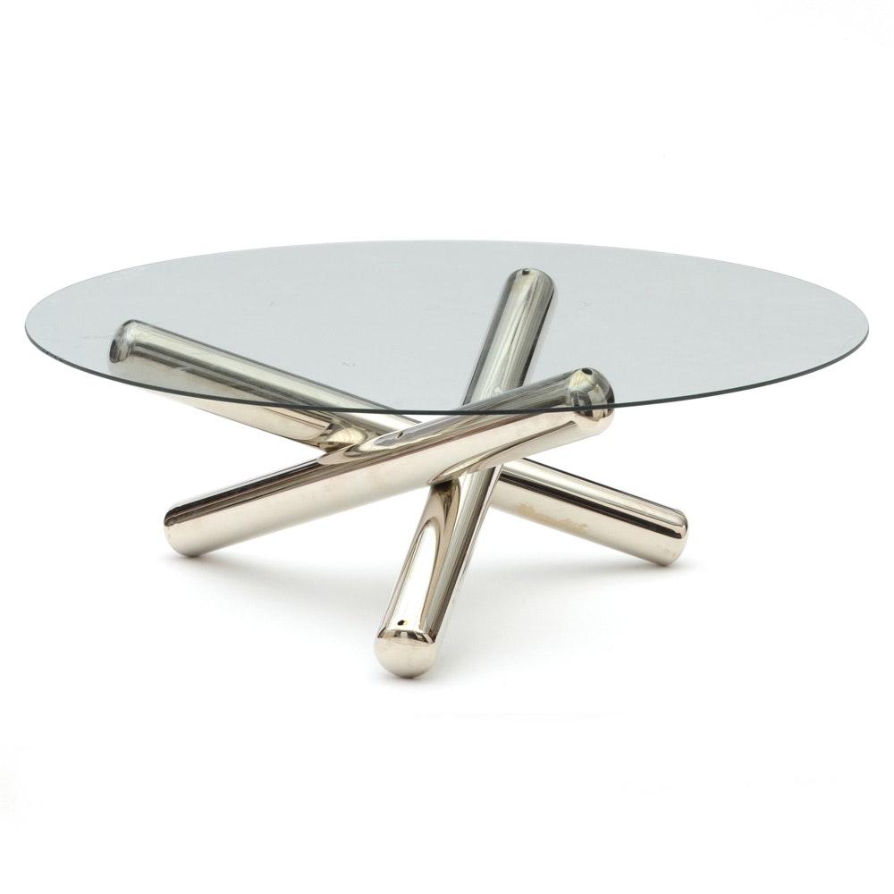 "Milo Baughman ""Jax"" Coffee Table"