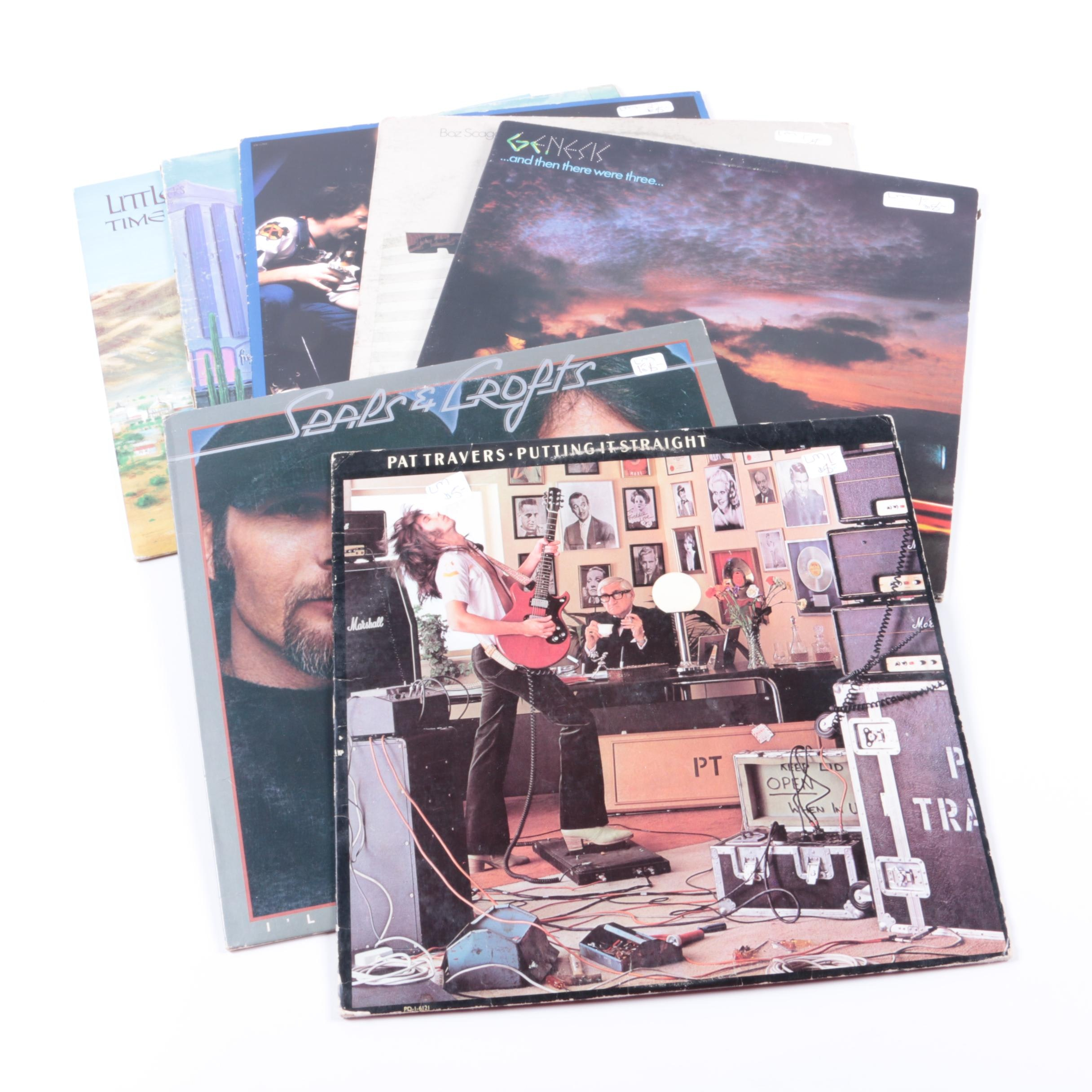 Collection of Classic Rock LPs