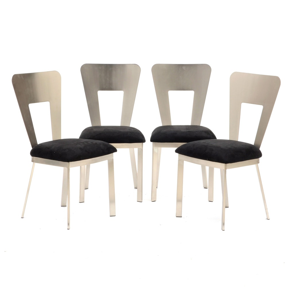 "Collection of Contemporary Modern Style ""Camille"" Side Chairs by Acme"