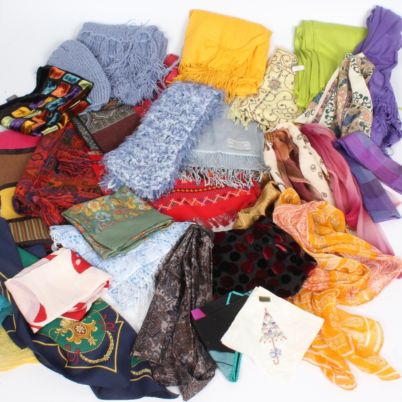 Scarf and Textile Collection
