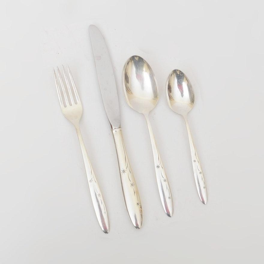 """Vintage Gorham """"Celeste"""" Sterling Silver Flatware"""