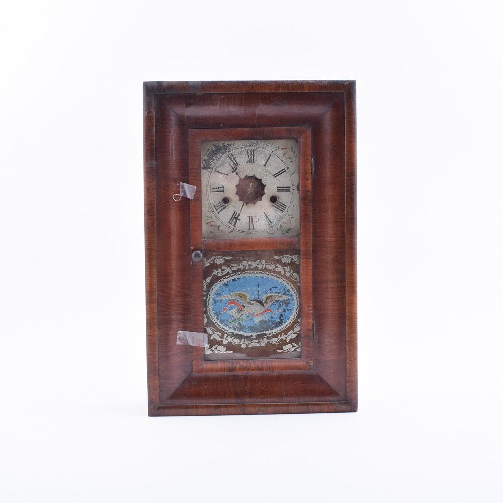 Antique Ogee Mantel Clock