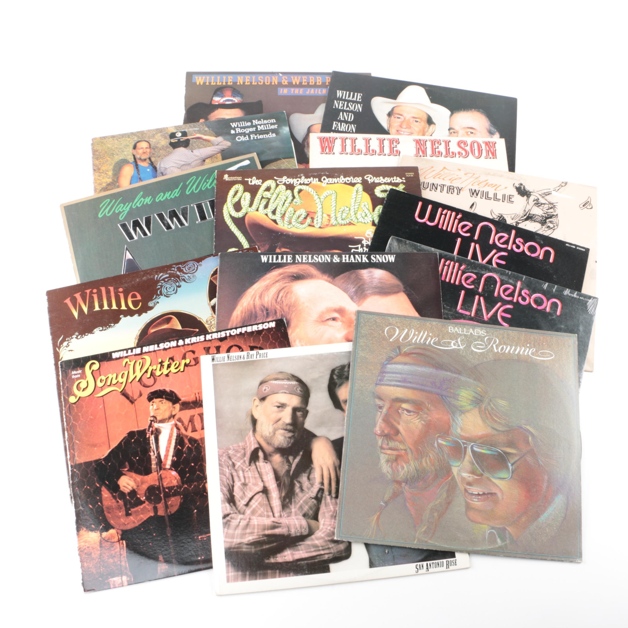 """""""Just Plain Willie"""" and Other Willie Nelson Records"""