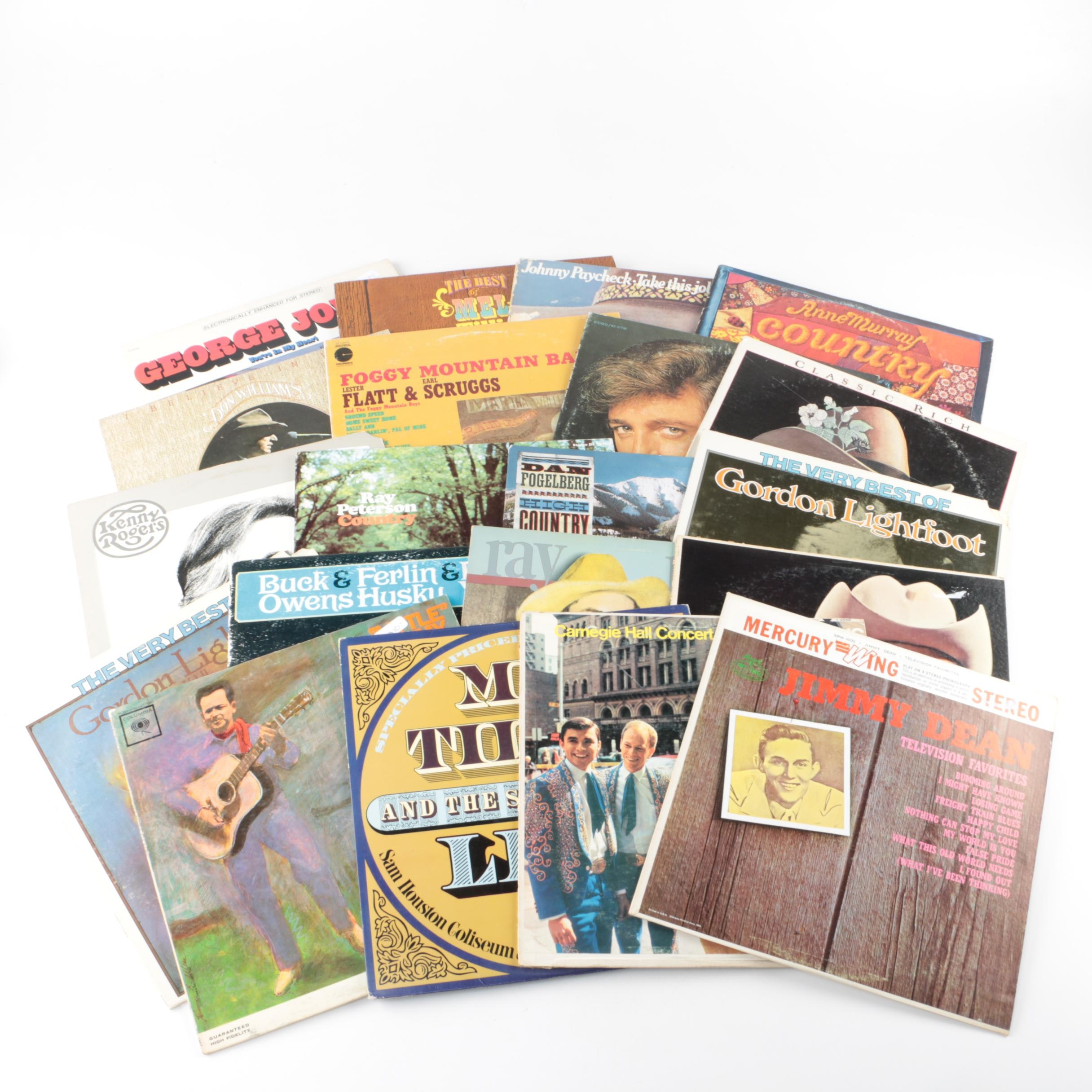 """Anne Murray, Gordon Lightfoot, """"Foggy Mountain Breakdown"""" and Other Country LPs"""