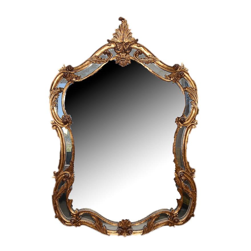 Baroque style wall mirror ebth for Baroque style wall mirror