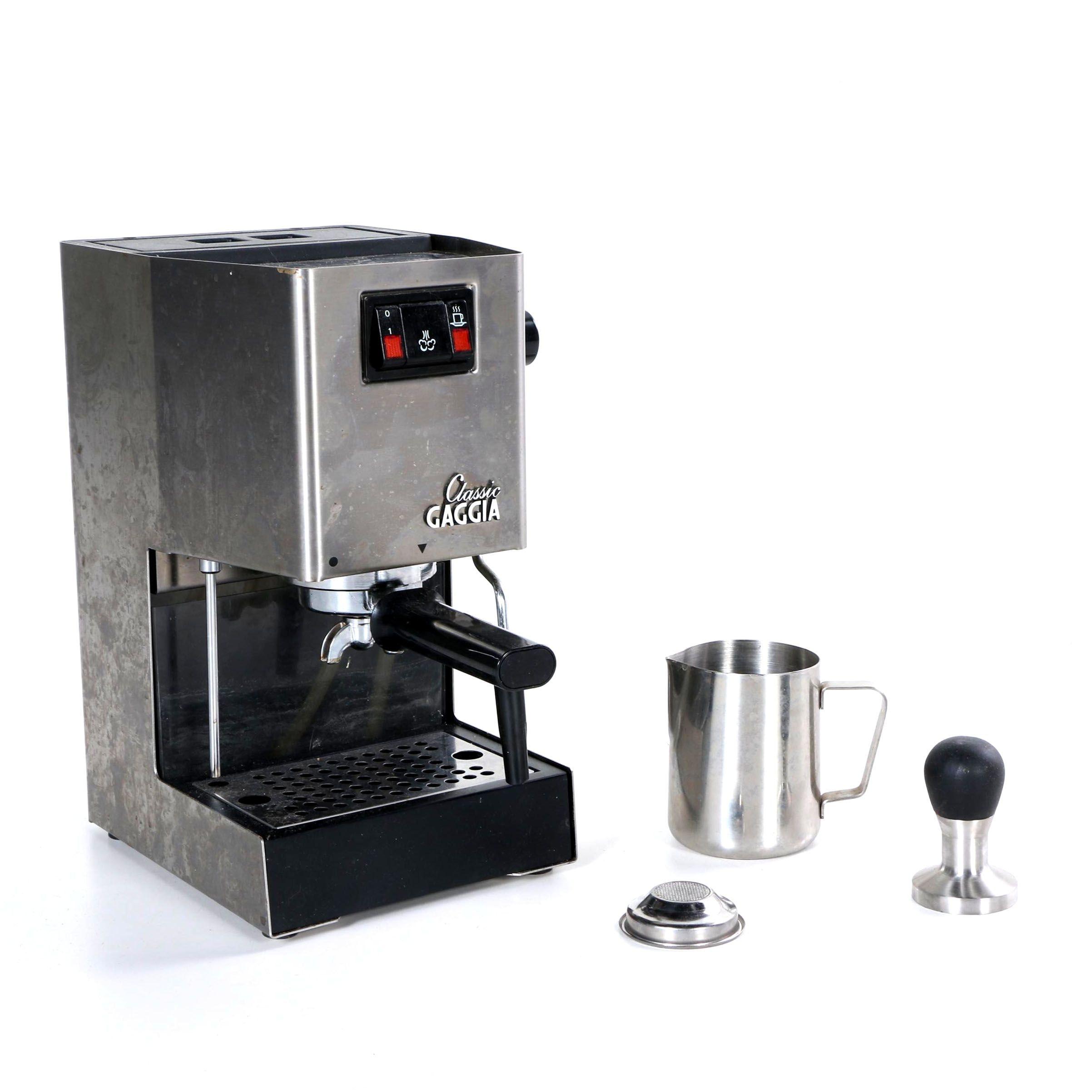 Classic Gaggia Espresso Machine